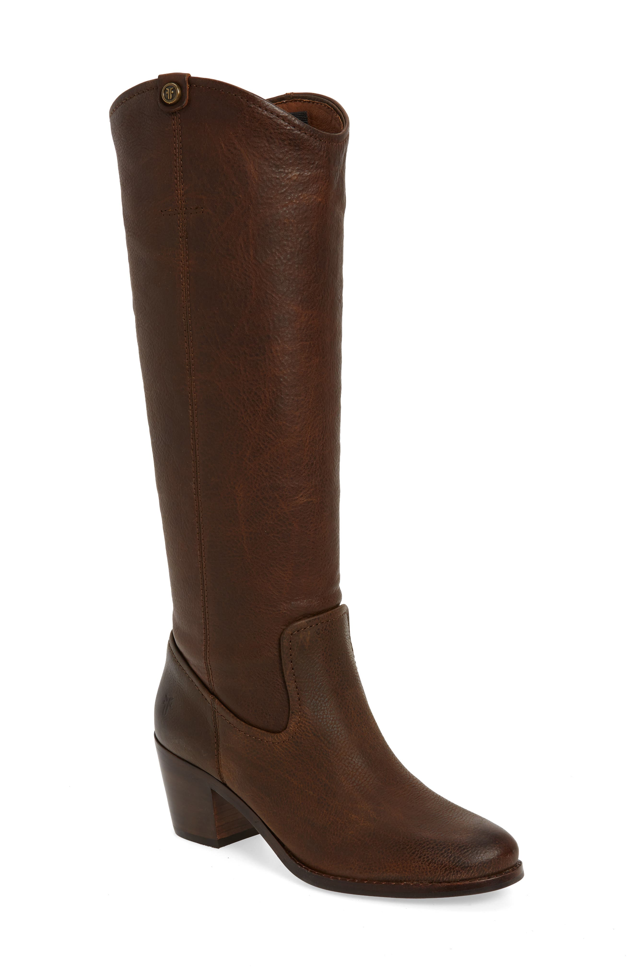 Frye Jolene Pull-On Knee High Boot, Brown