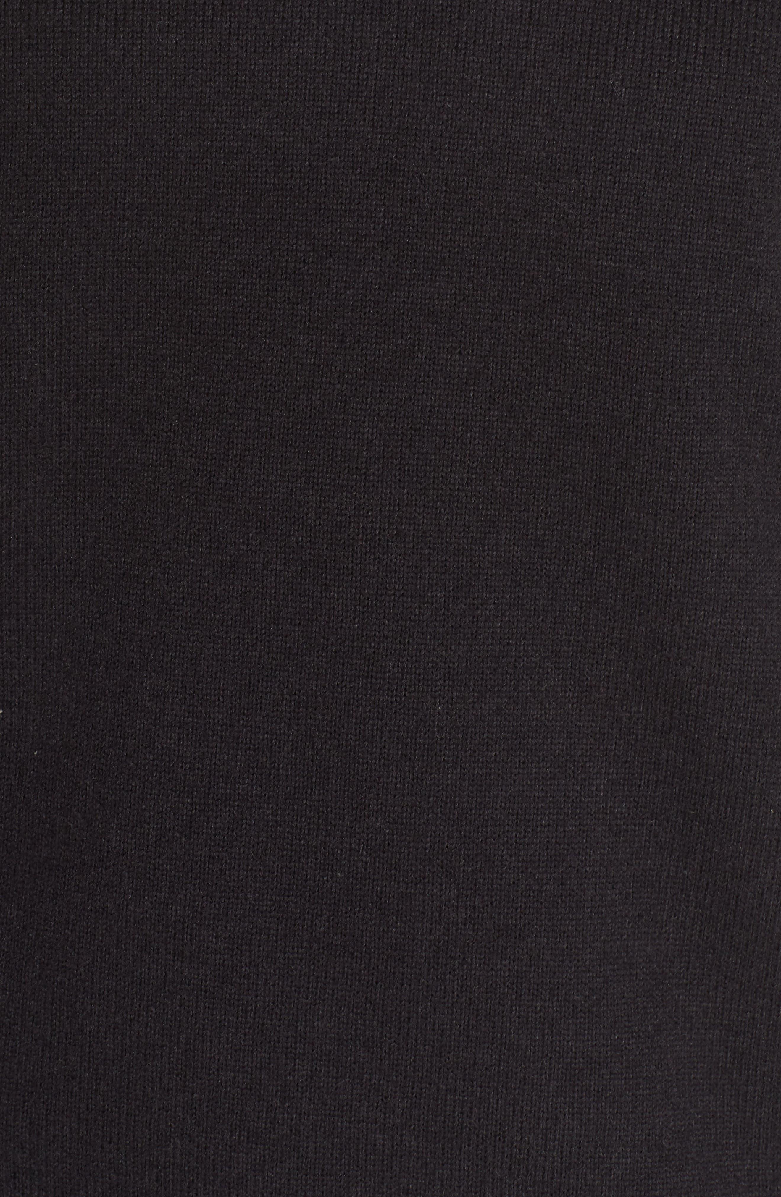 Lightweight Better Sweater Fleece,                             Alternate thumbnail 6, color,                             BLACK