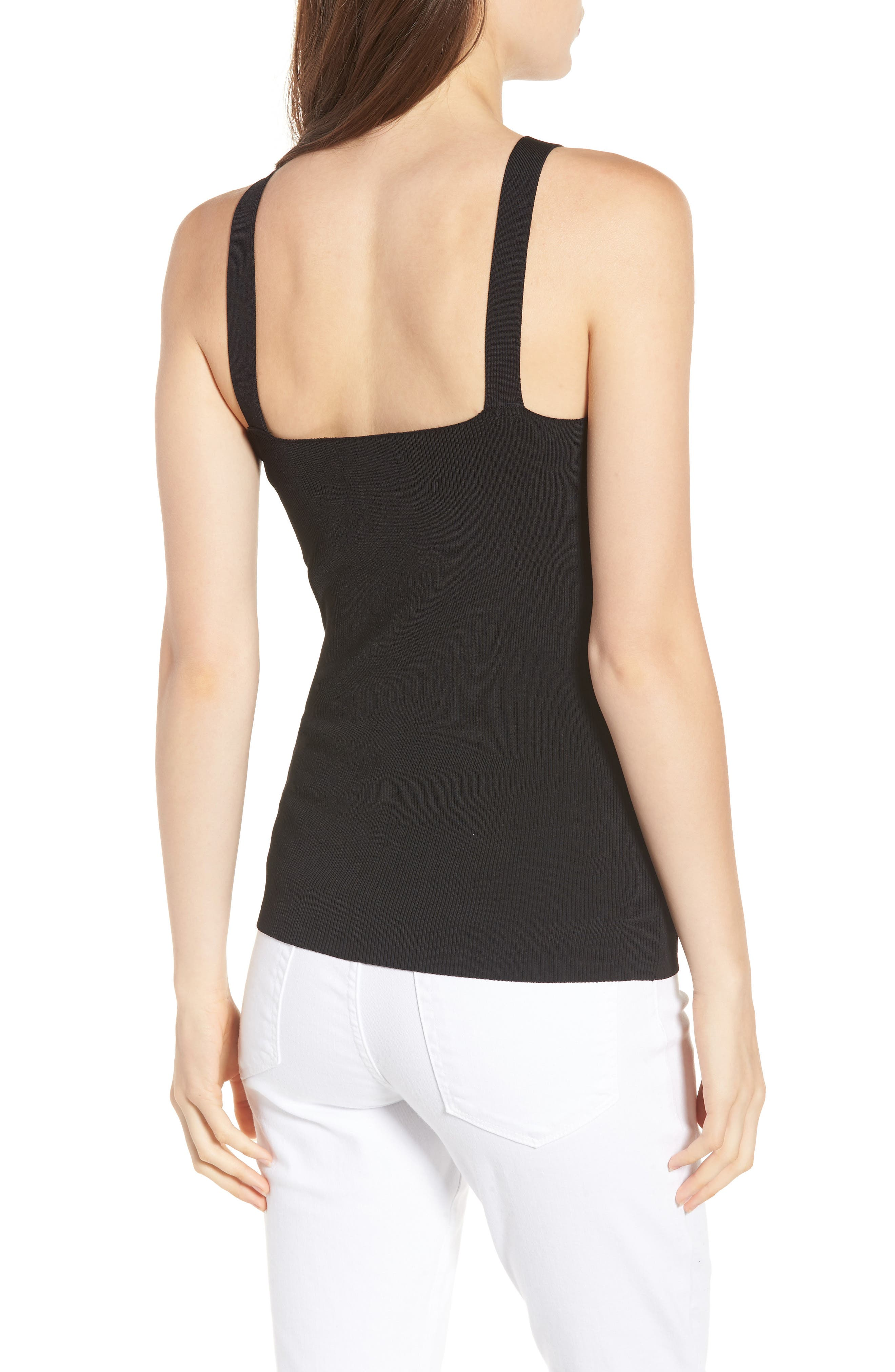 Rib Knit Tank,                             Alternate thumbnail 2, color,