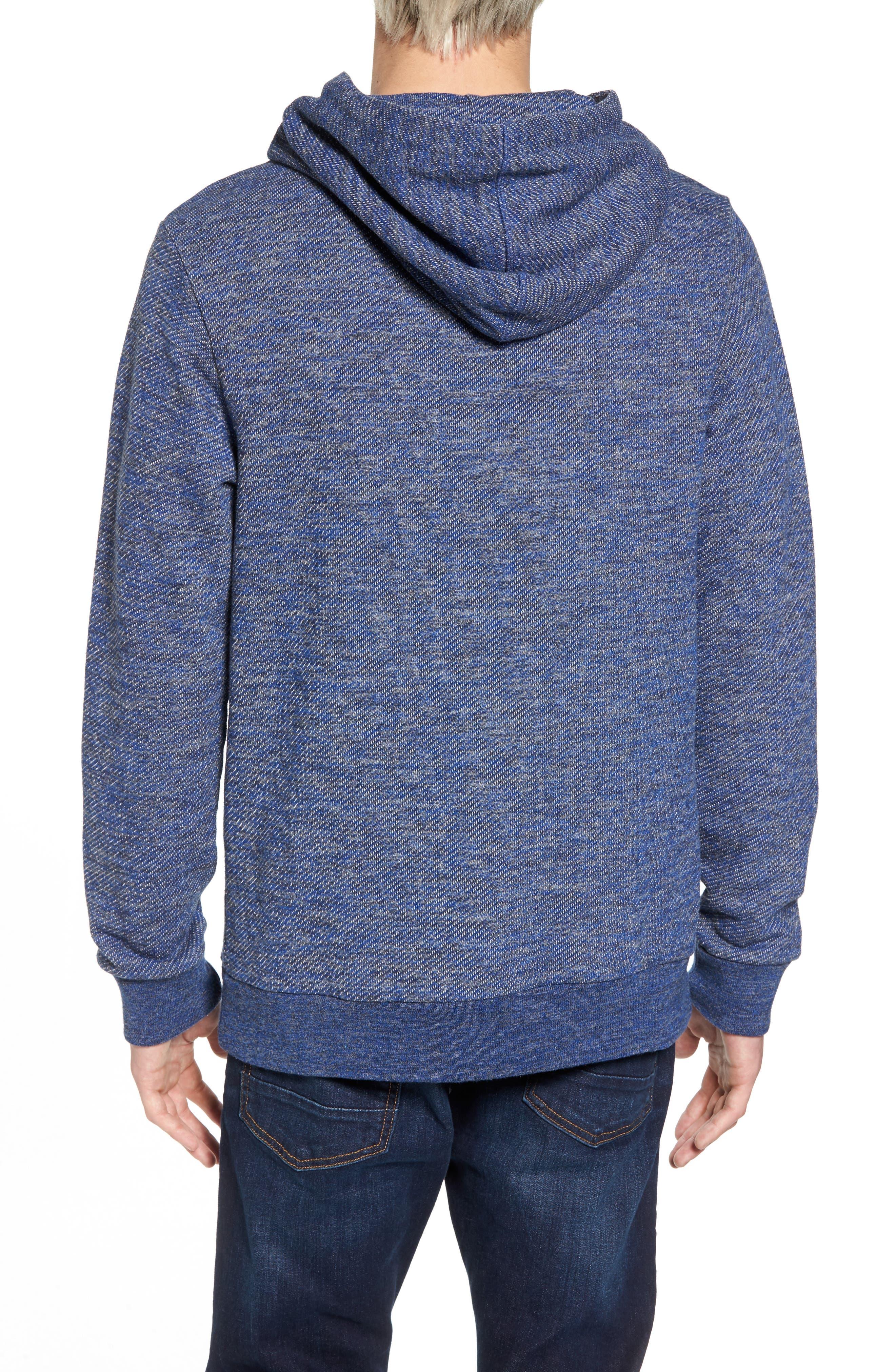 Mélange Knit Hoodie,                             Alternate thumbnail 2, color,