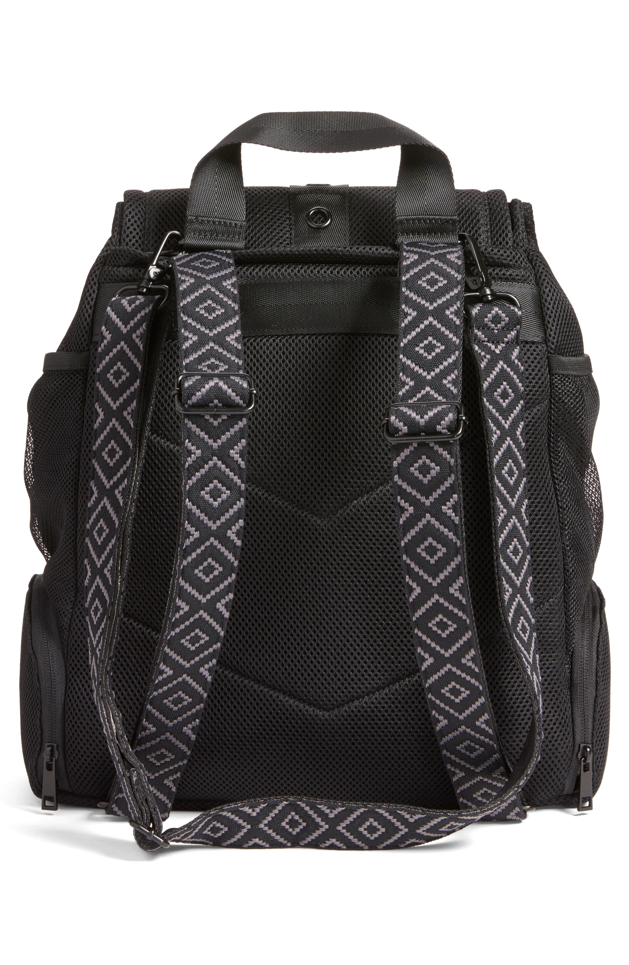 Water Resistant Backpack,                             Alternate thumbnail 3, color,                             001