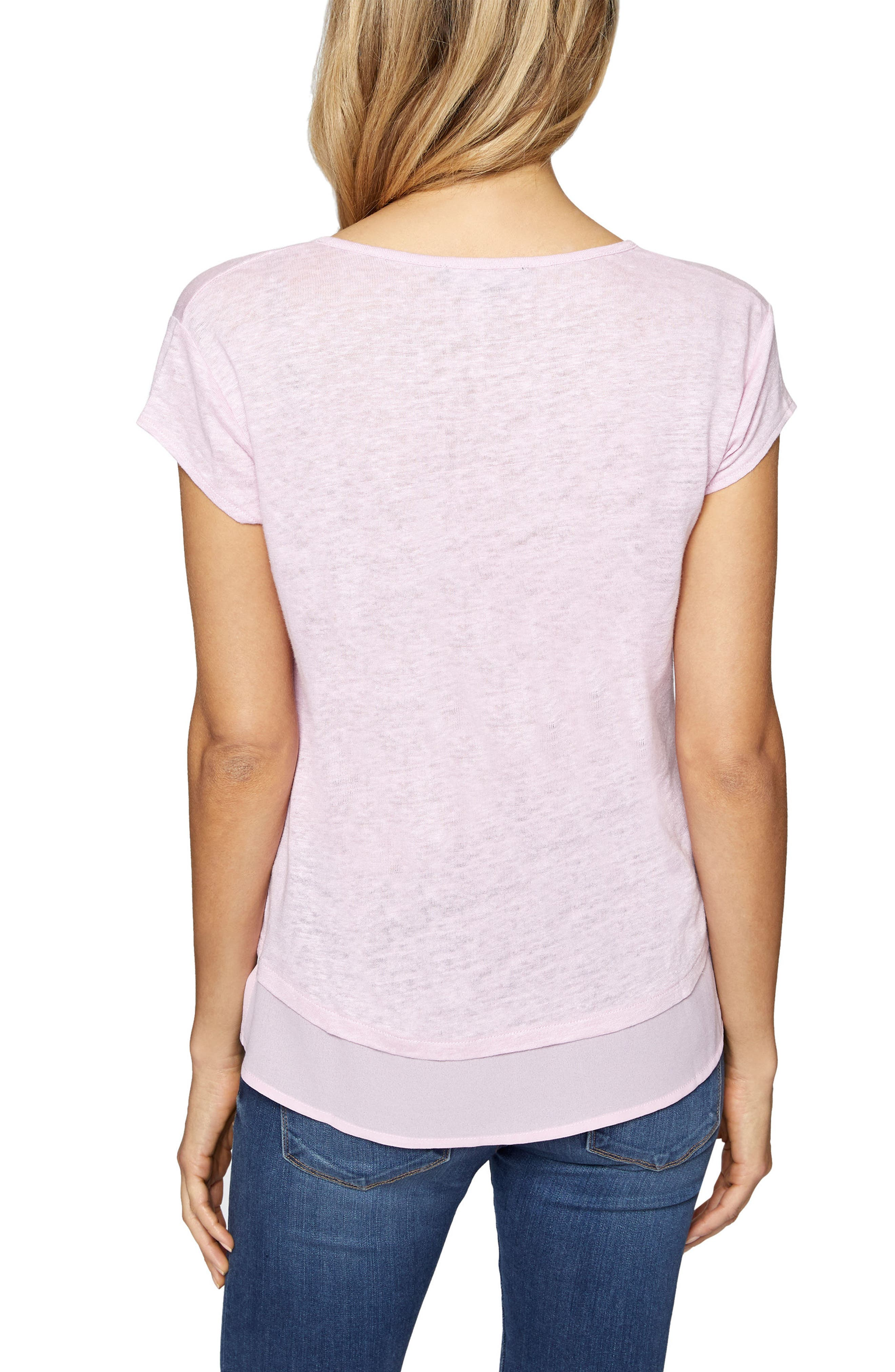 City Mix Layered Look Tee,                             Alternate thumbnail 31, color,