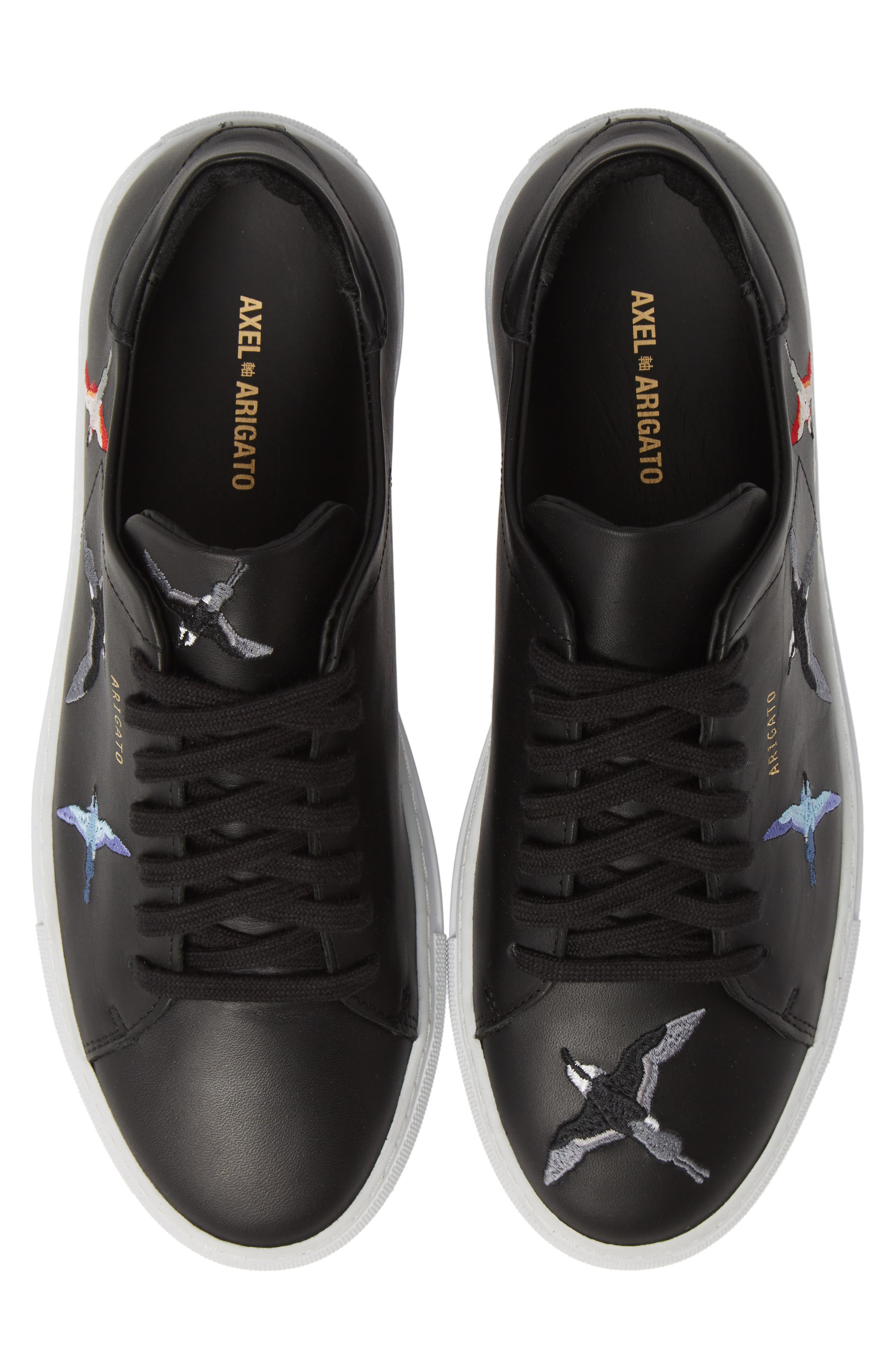 Clean 90 Sneaker, Main, color, BLACK W/ BIRDS