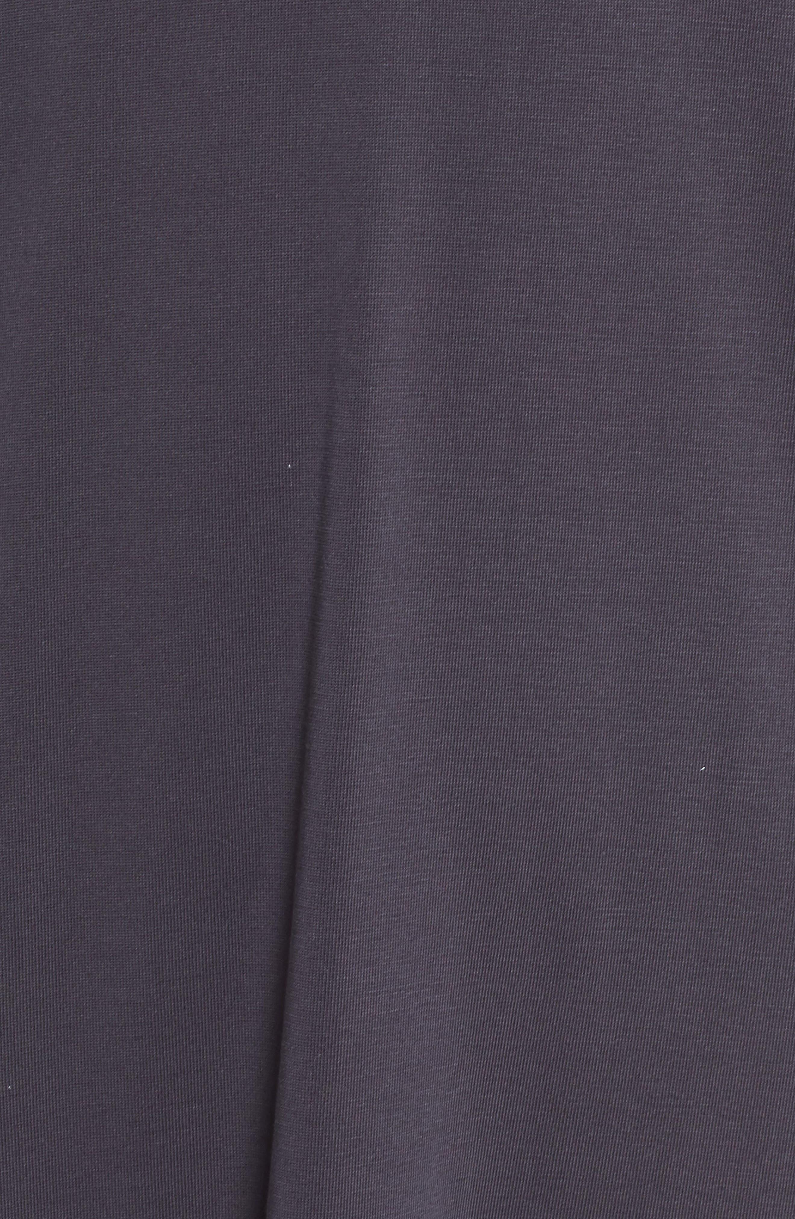 Knit Maxi Dress,                             Alternate thumbnail 5, color,                             002