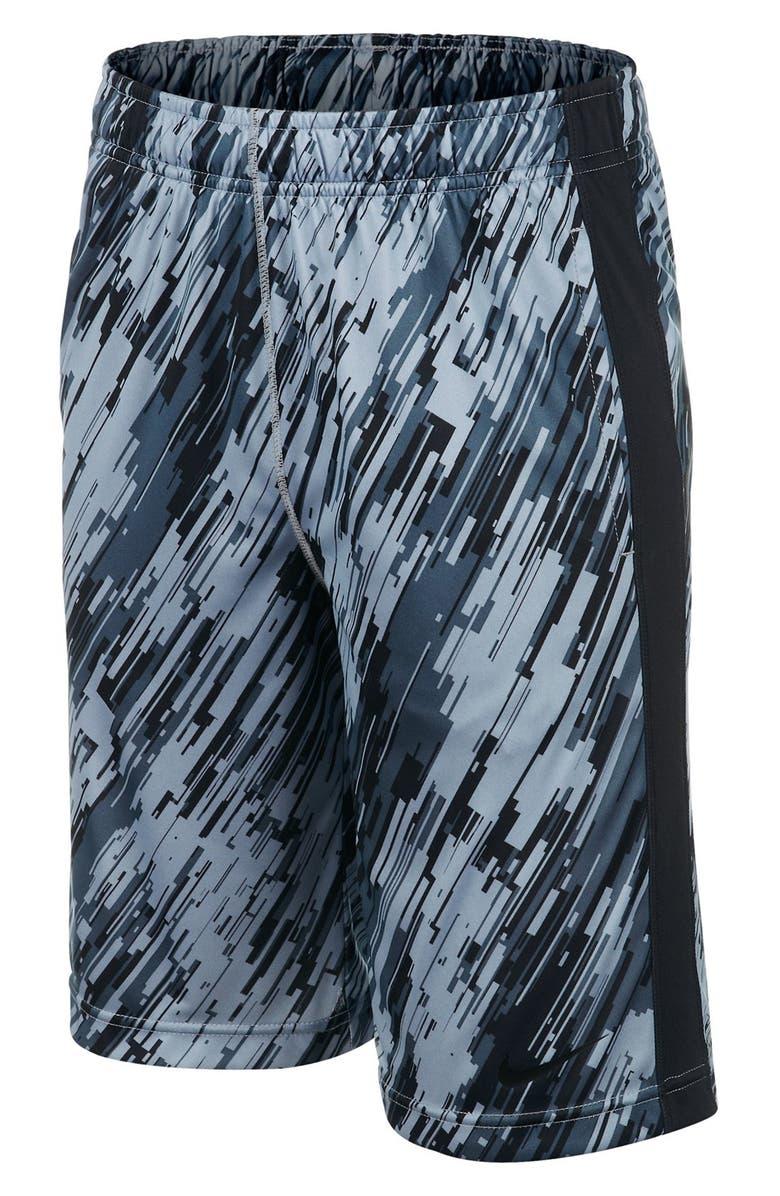 Nike  Fly - Rain Camo  Dri-FIT Shorts (Big Boys)  859592a94