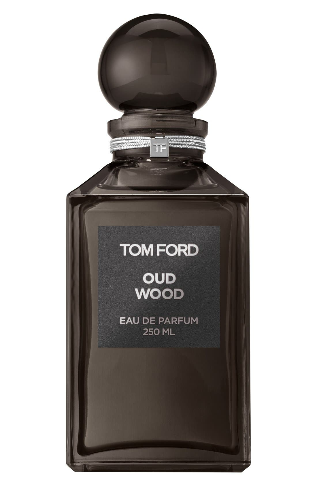 Private Blend Oud Wood Eau de Parfum Decanter,                             Main thumbnail 1, color,                             NO COLOR