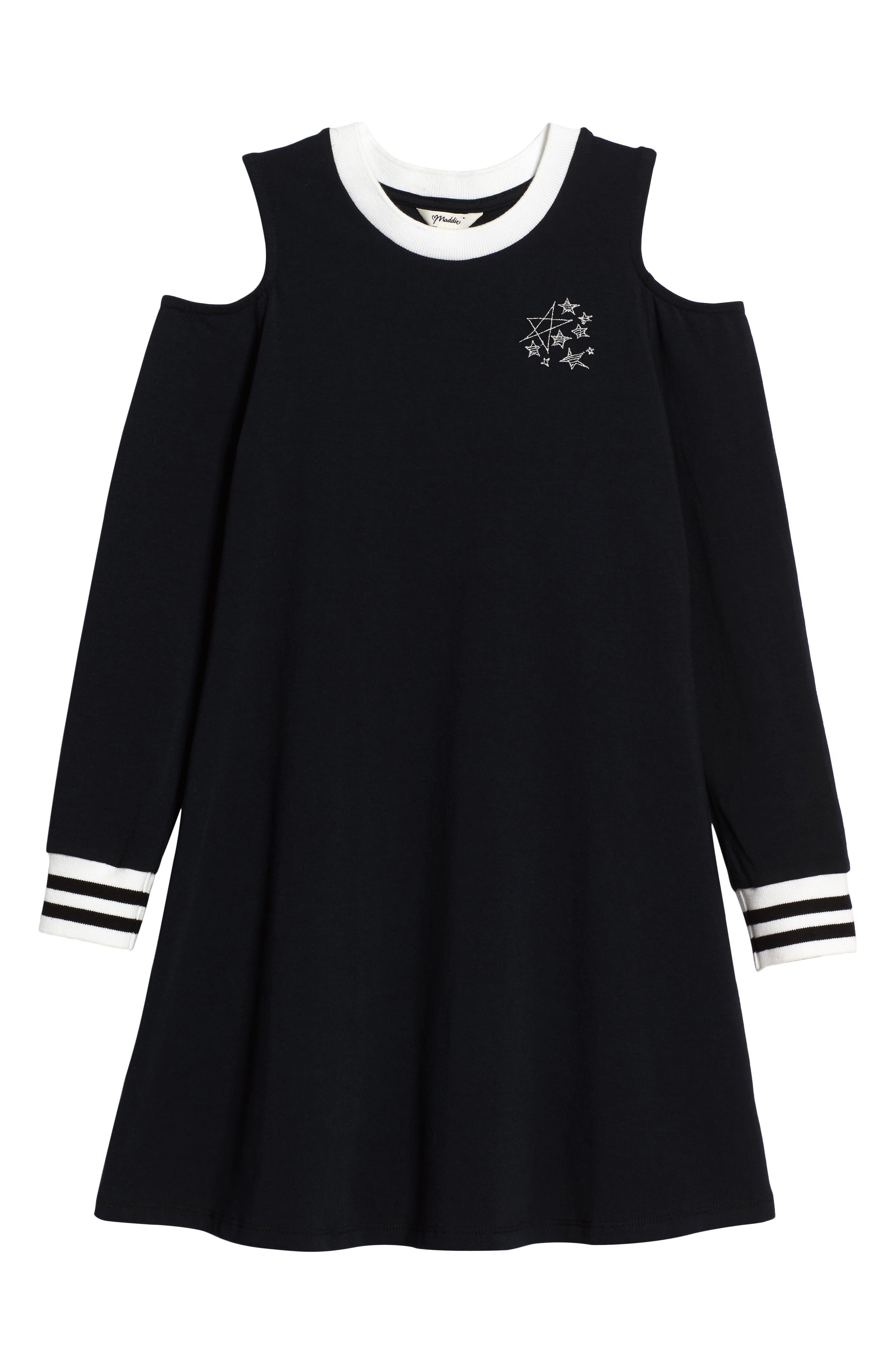 Cold Shoulder Dress,                         Main,                         color,