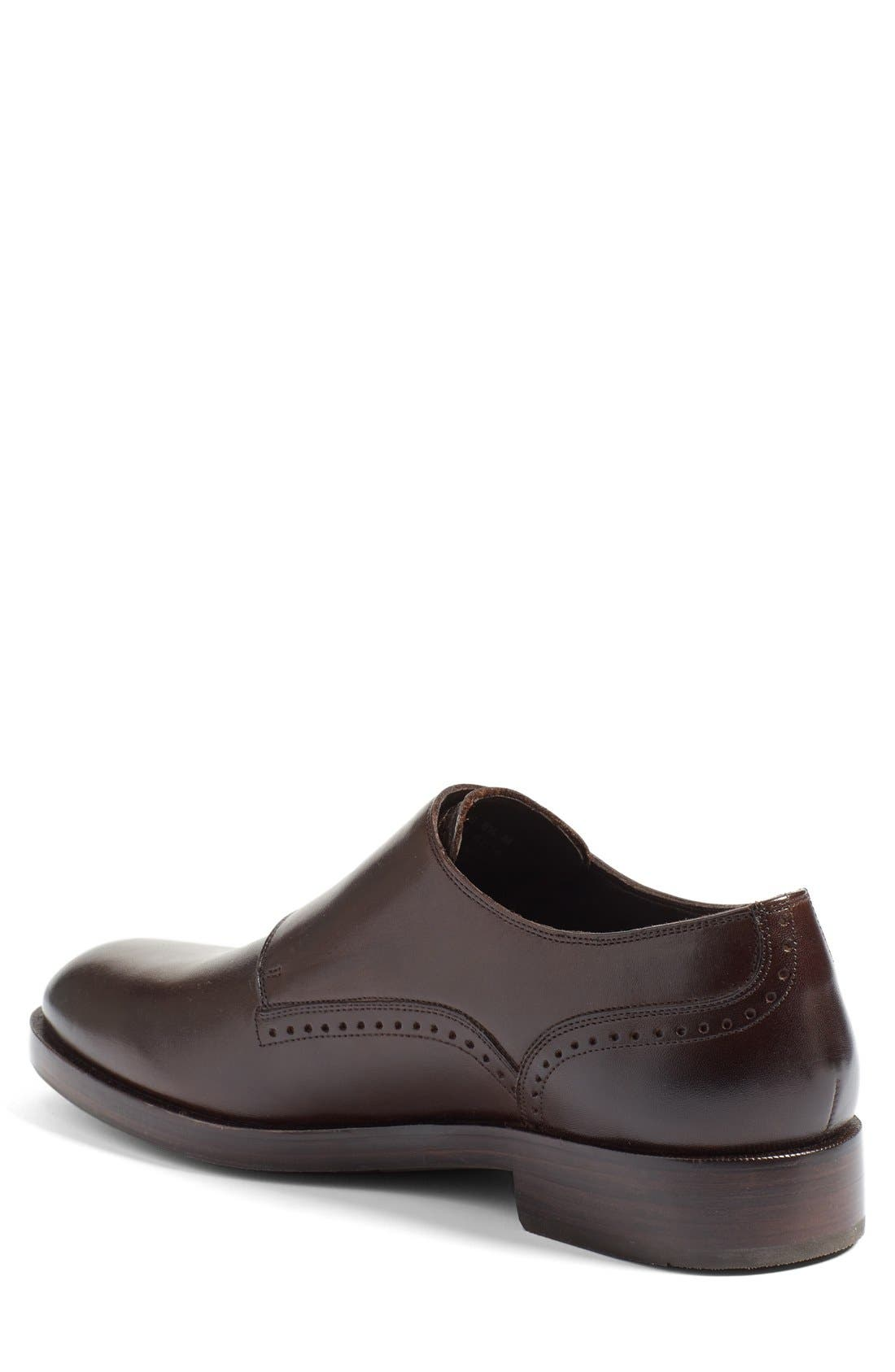 'Harrison' Double Monk Strap Shoe,                             Alternate thumbnail 2, color,                             205