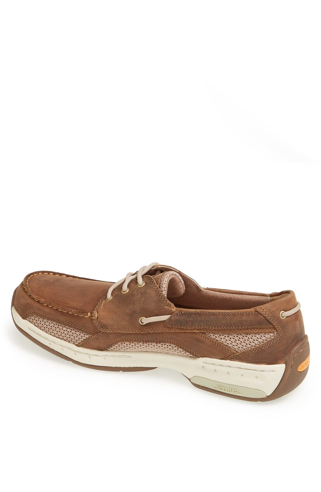 'Captain' Boat Shoe,                             Alternate thumbnail 4, color,                             TAN