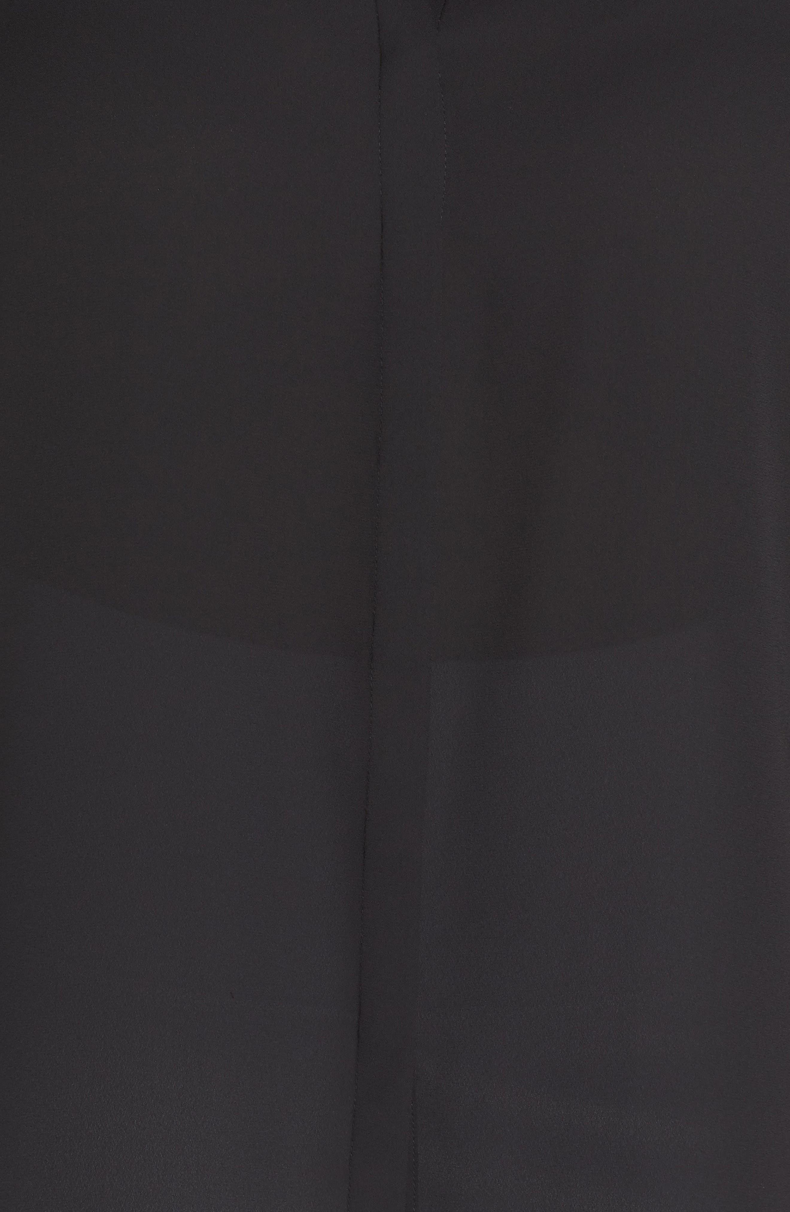 Flutter Sleeve Top,                             Alternate thumbnail 6, color,                             001