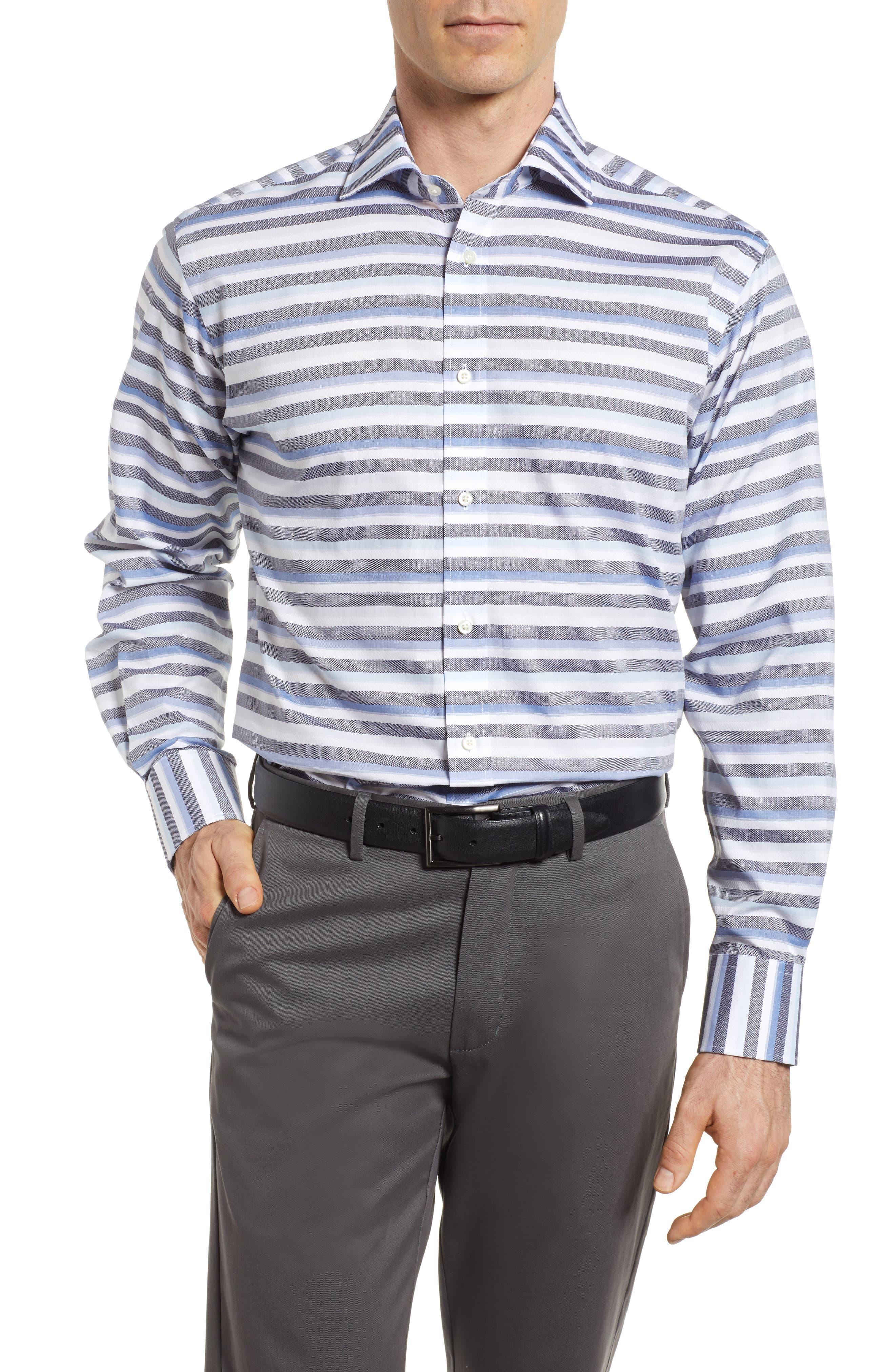 Stripe Sport Shirt,                             Main thumbnail 1, color,                             400