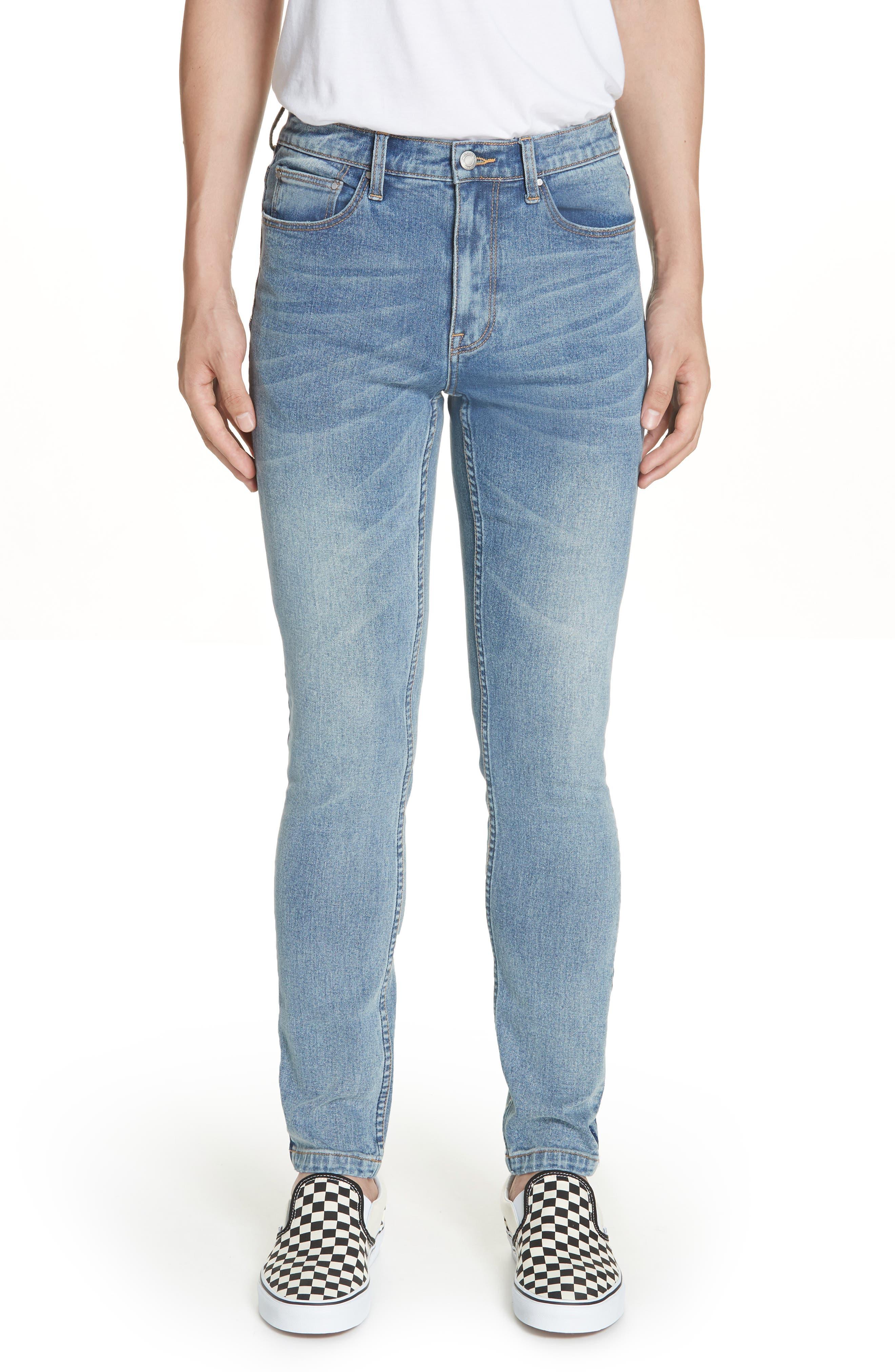 OVADIA & SONS,                             OS-1 Slim Fit Jeans,                             Main thumbnail 1, color,                             INDIGO