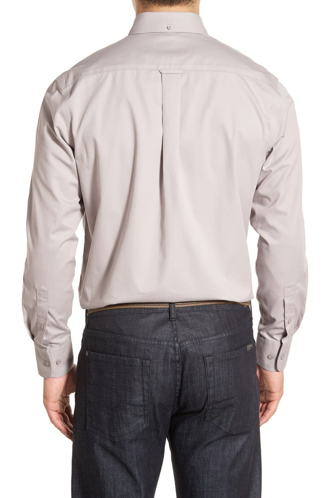 Smartcare<sup>™</sup> Traditional Fit Twill Boat Shirt,                             Alternate thumbnail 47, color,