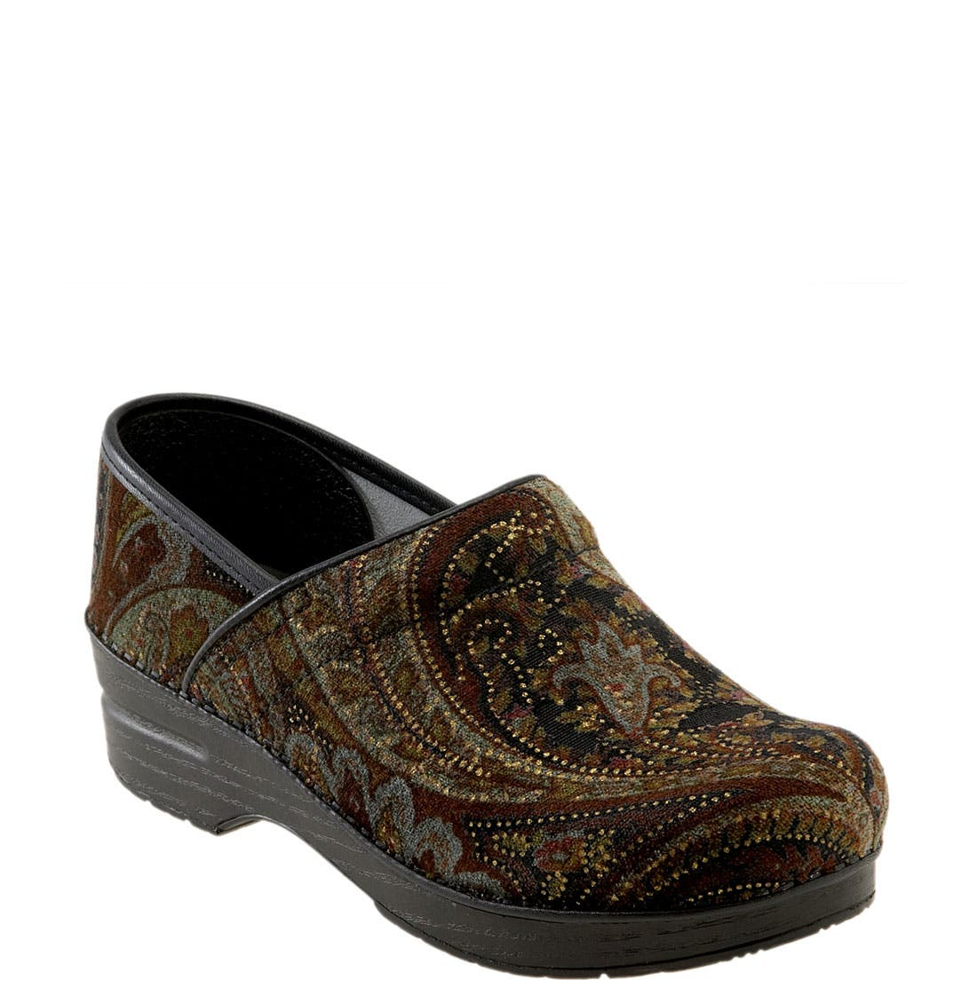 'Professional Tapestry' Clog, Main, color, 200
