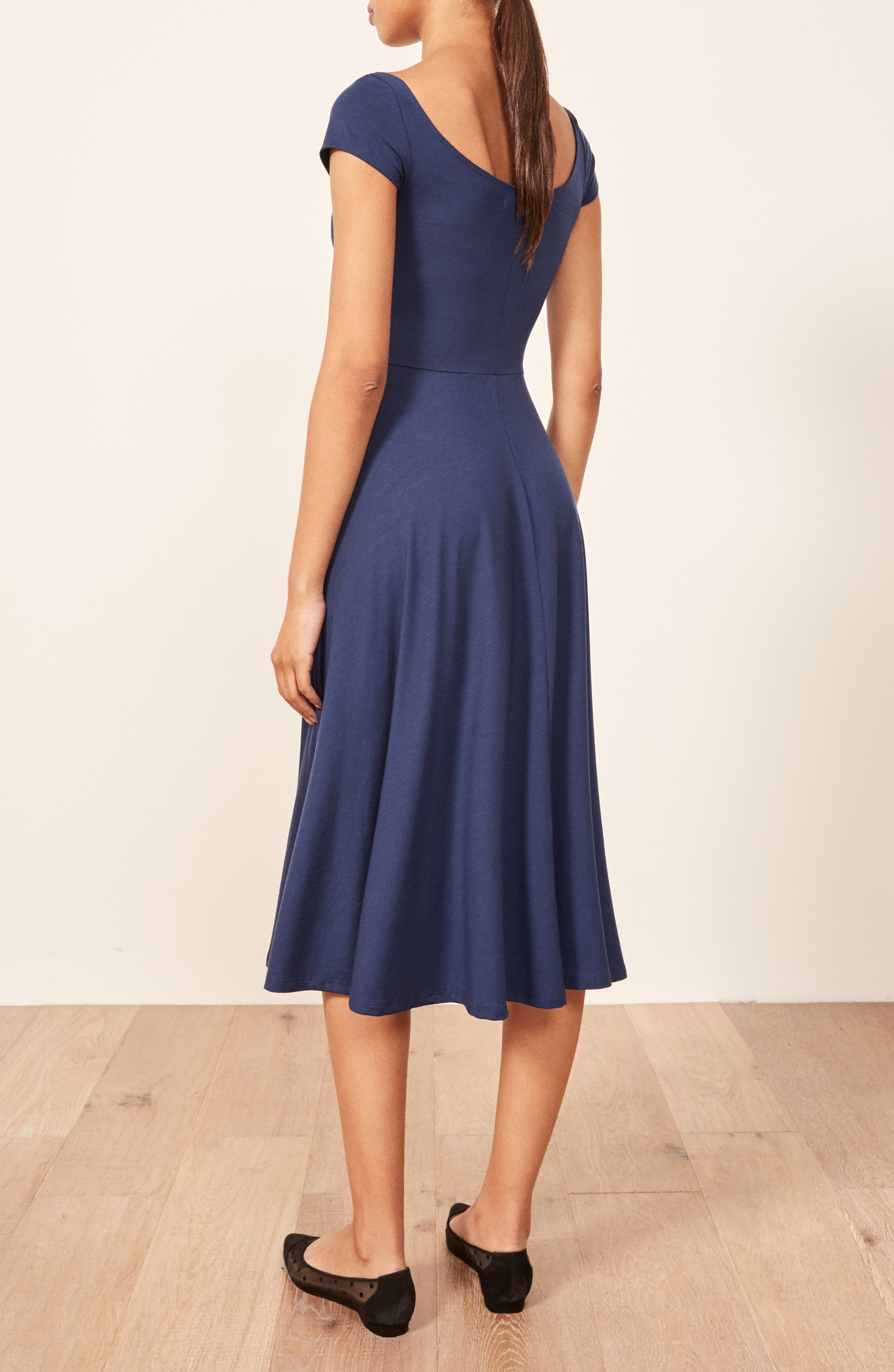 Krista Dress,                             Alternate thumbnail 2, color,                             NAVY