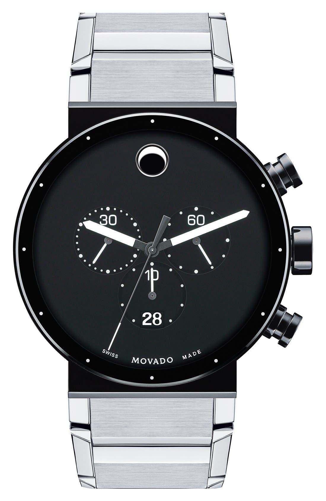 'Sapphire Synergy' Chronograph Bracelet Watch, 42mm,                             Main thumbnail 1, color,                             040