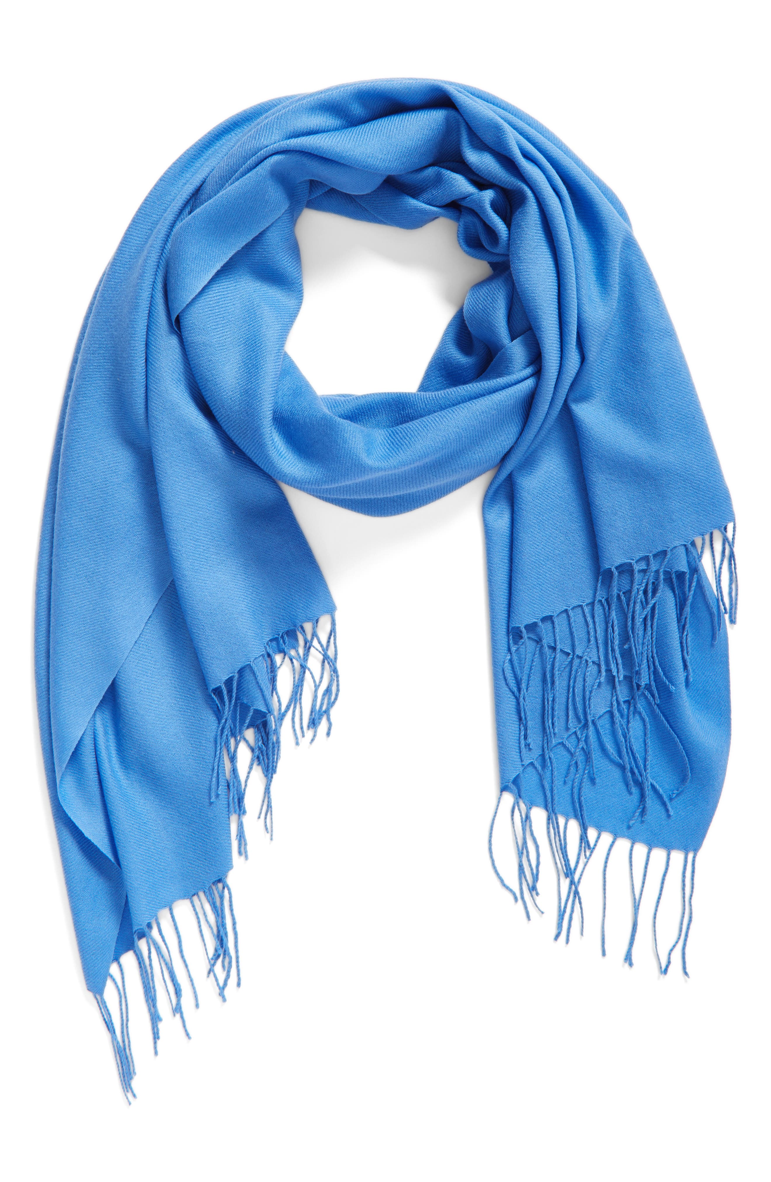 Tissue Weight Wool & Cashmere Scarf,                             Main thumbnail 41, color,