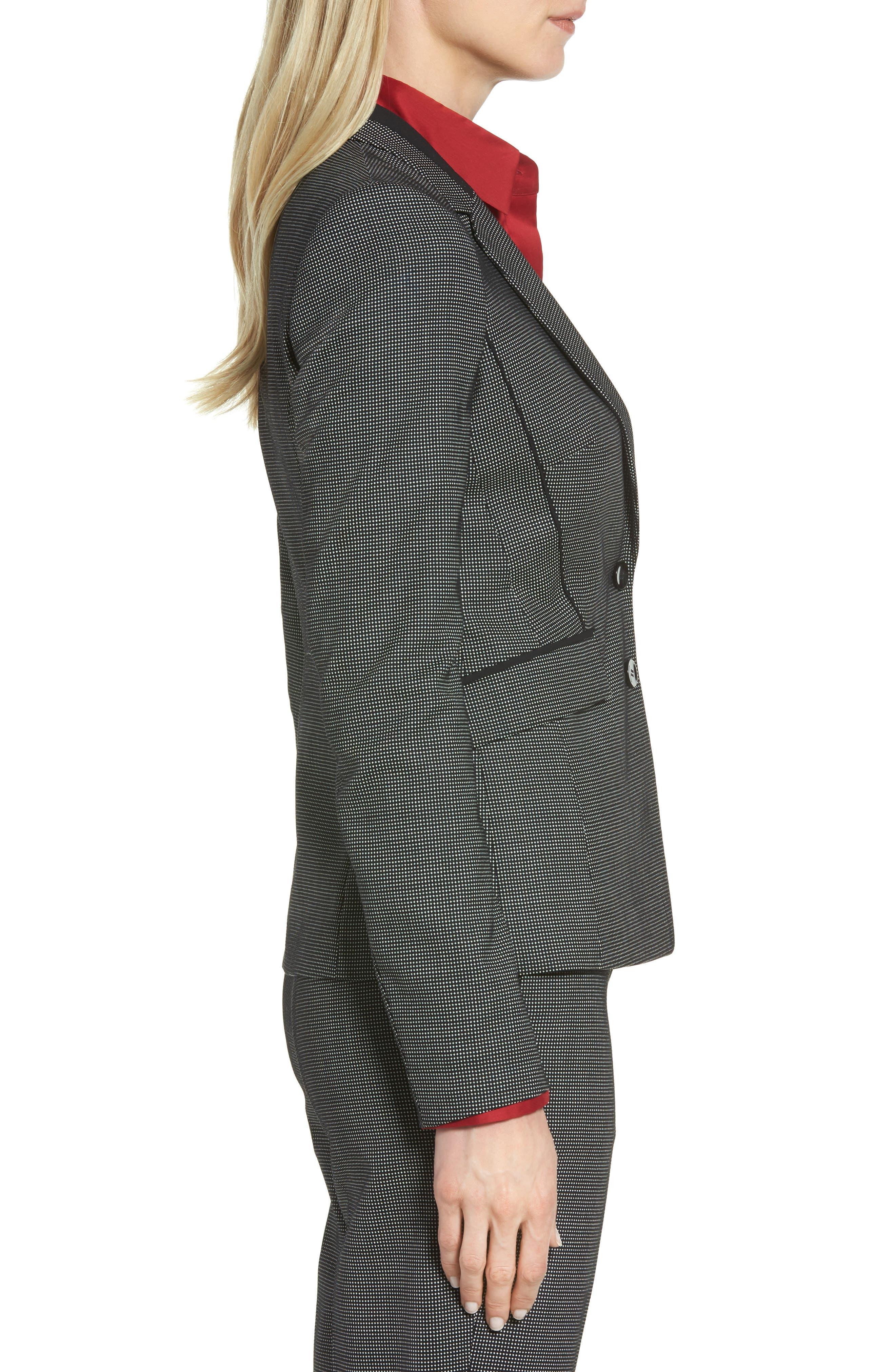 Jelisana Stretch Wool Suit Jacket,                             Alternate thumbnail 4, color,