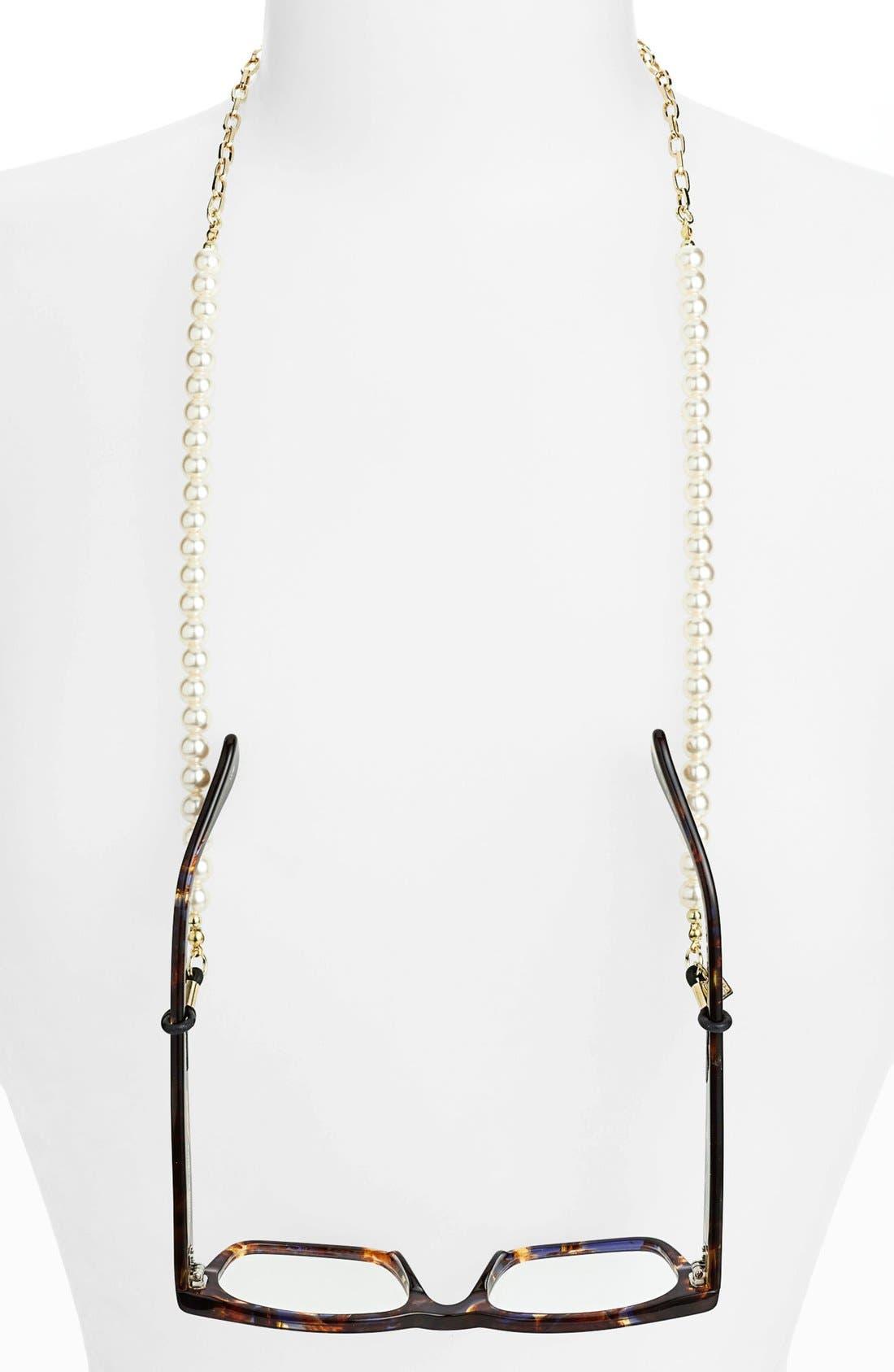 'Pearls' Eyewear Chain,                         Main,                         color, 900