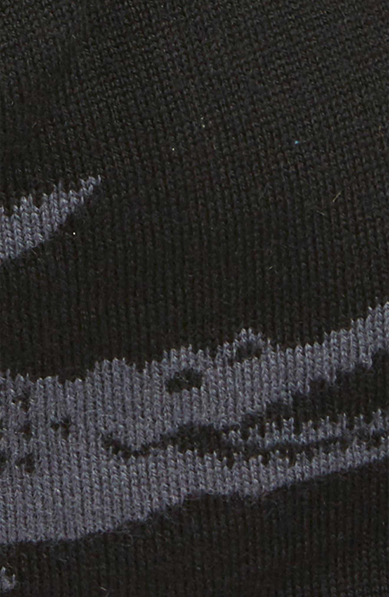 Big Crocodile Reversible Wool Beanie,                             Alternate thumbnail 2, color,                             001