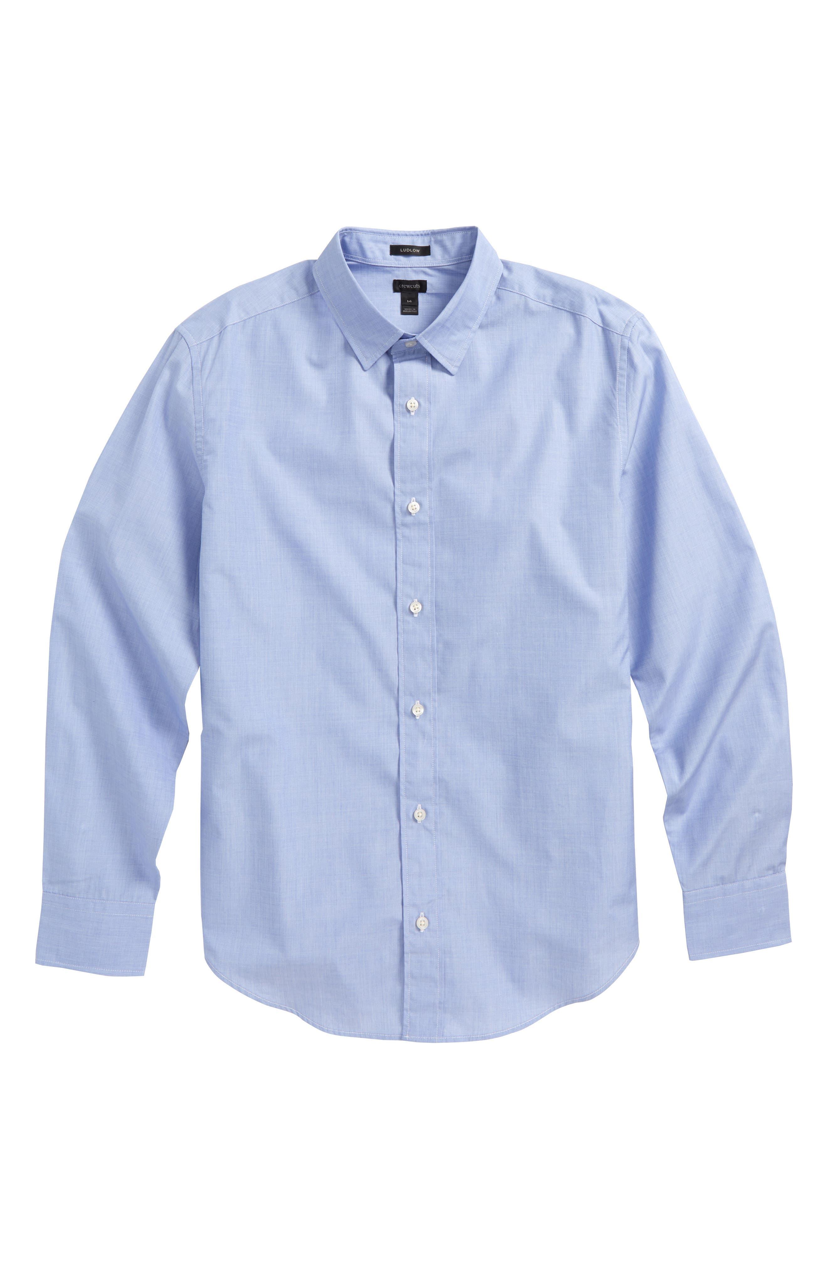 Ludlow Dress Shirt,                         Main,                         color, 400