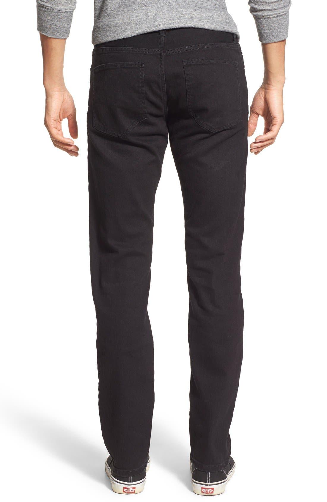 Skinny Fit Jeans,                             Alternate thumbnail 2, color,                             001