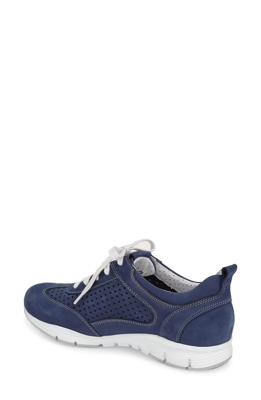 'Yoana' Soft Air Perforated Sneaker,                             Alternate thumbnail 2, color,                             411