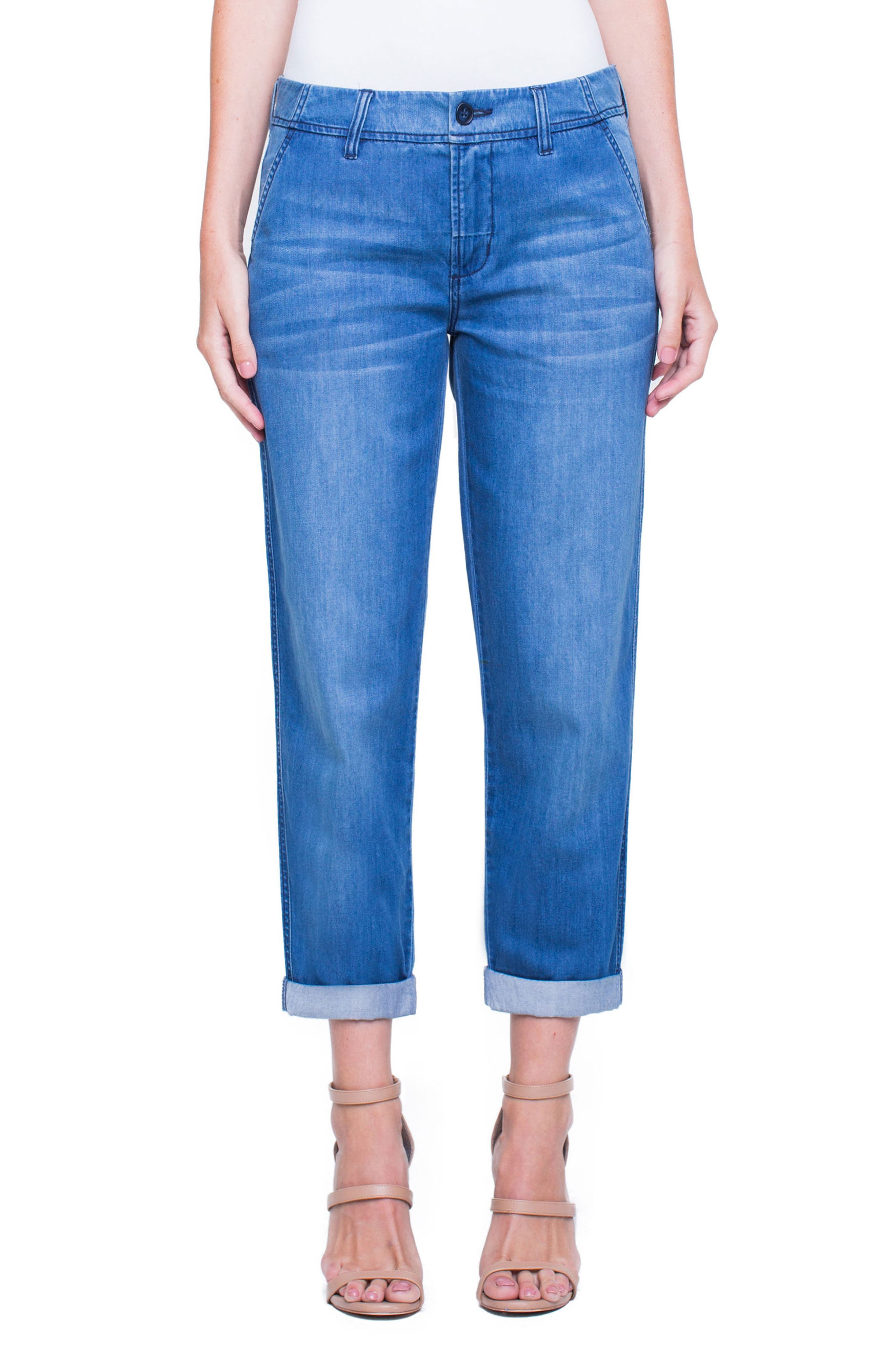 Cole Rolled Jeans,                         Main,                         color, 409