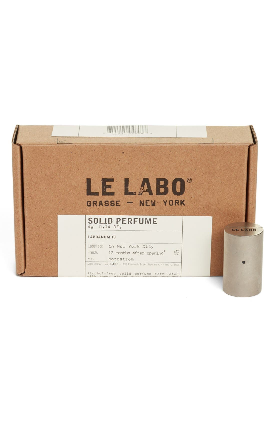 'Labdanum 18' Solid Perfume,                             Alternate thumbnail 3, color,                             000