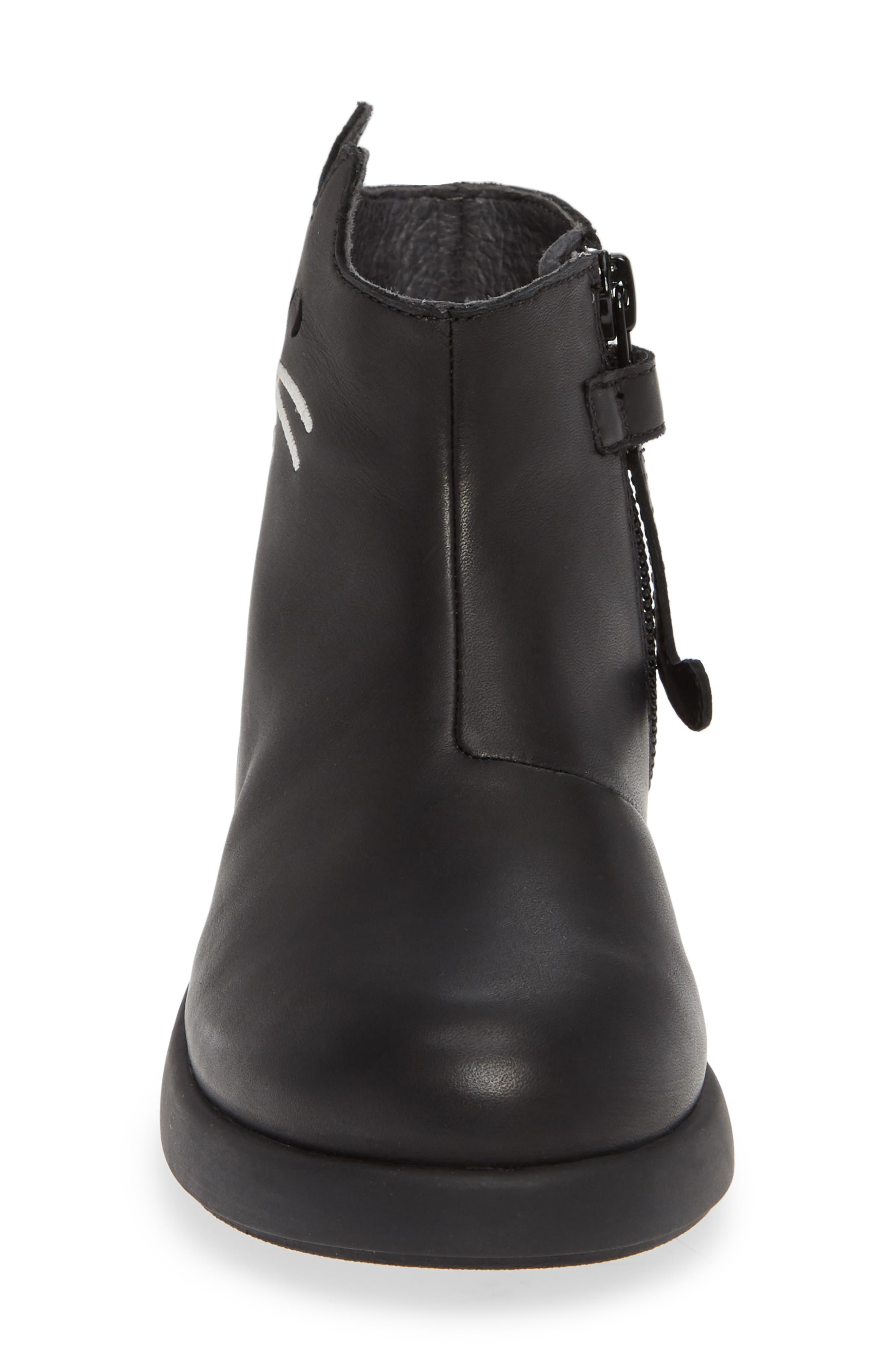 Duet Boot,                             Alternate thumbnail 4, color,                             BLACK