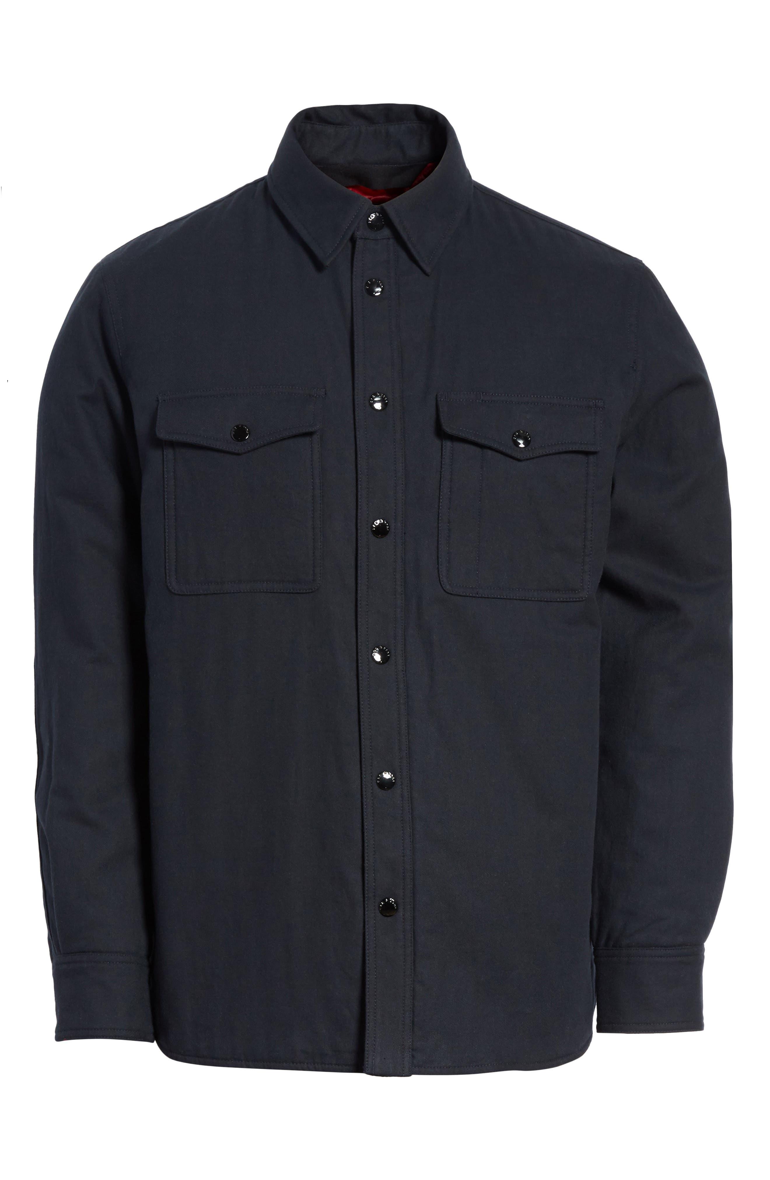 Jack Quilt Lined Shirt Jacket,                             Alternate thumbnail 5, color,                             415