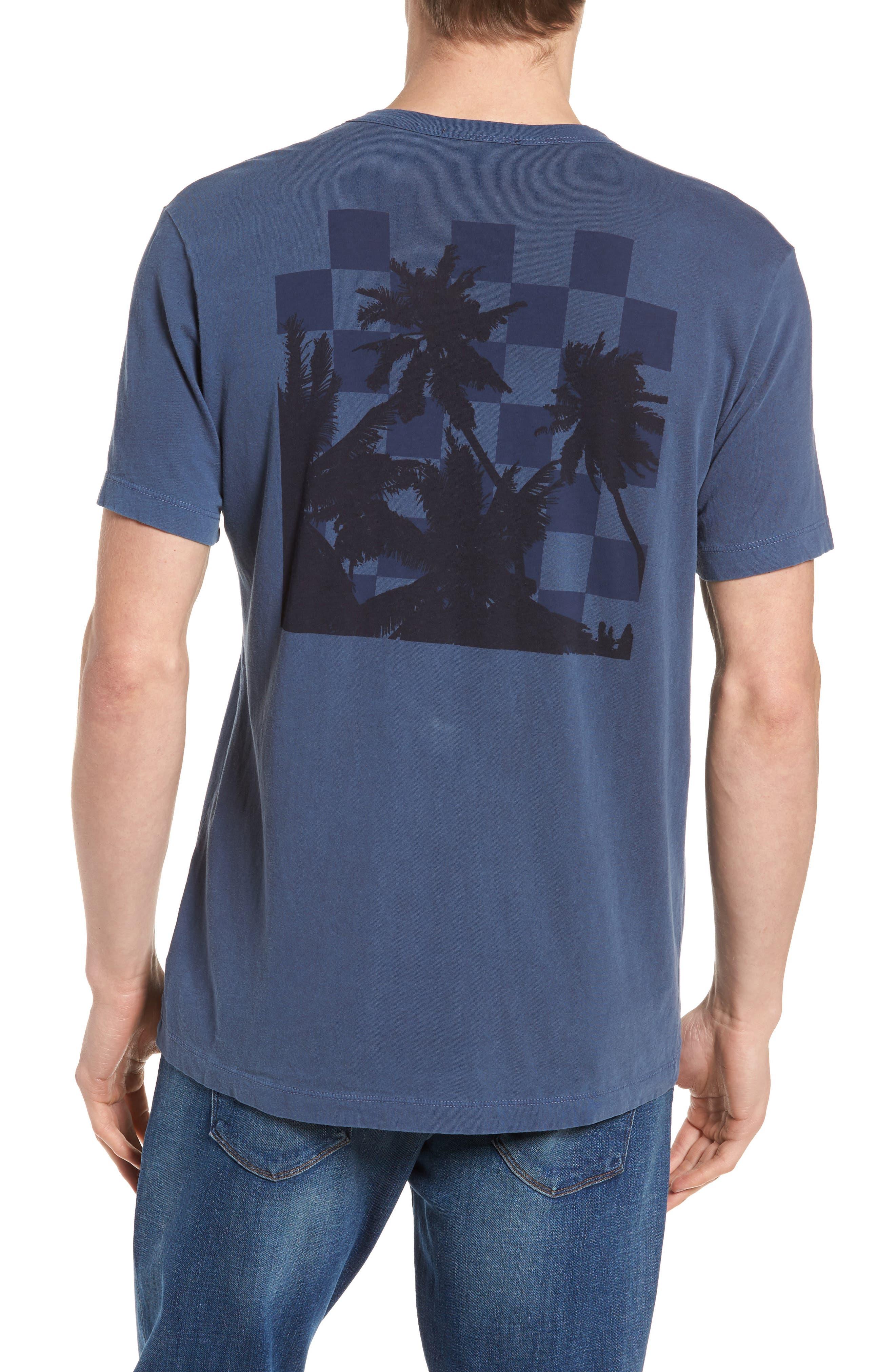 Checkerboard Crewneck T-Shirt,                             Alternate thumbnail 6, color,