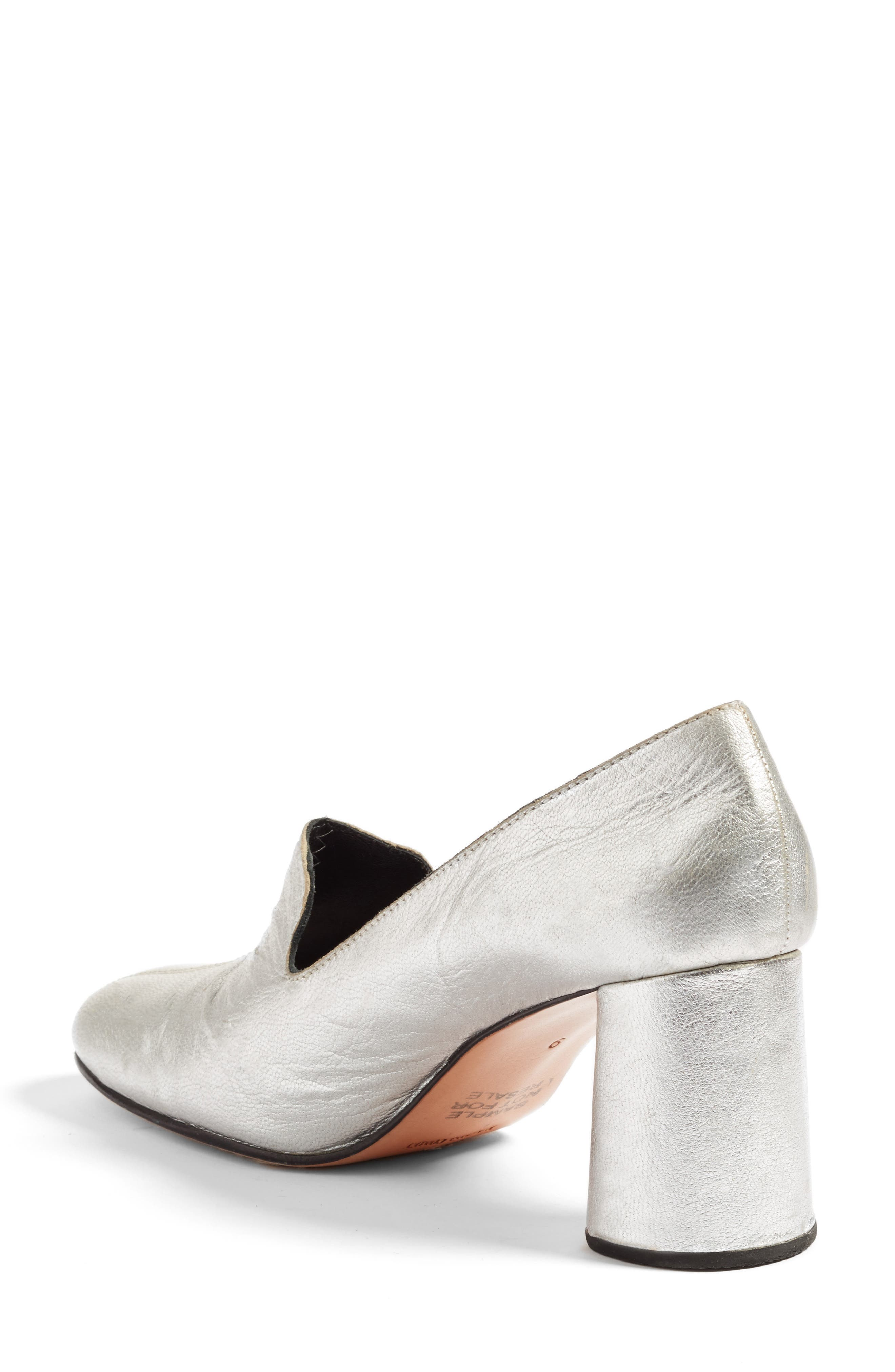 'May' Retro Loafer Pump,                             Alternate thumbnail 2, color,                             040