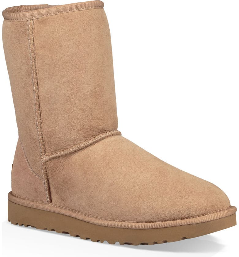 Look for UGG Classic II Genuine Shearling Lined Short Boot (Women) Best Reviews