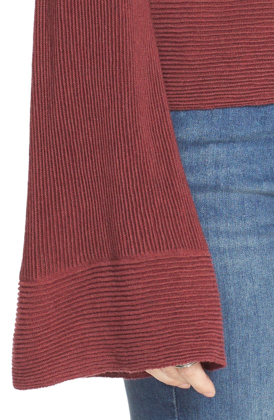'Starman' Rib Knit Pullover,                             Alternate thumbnail 12, color,