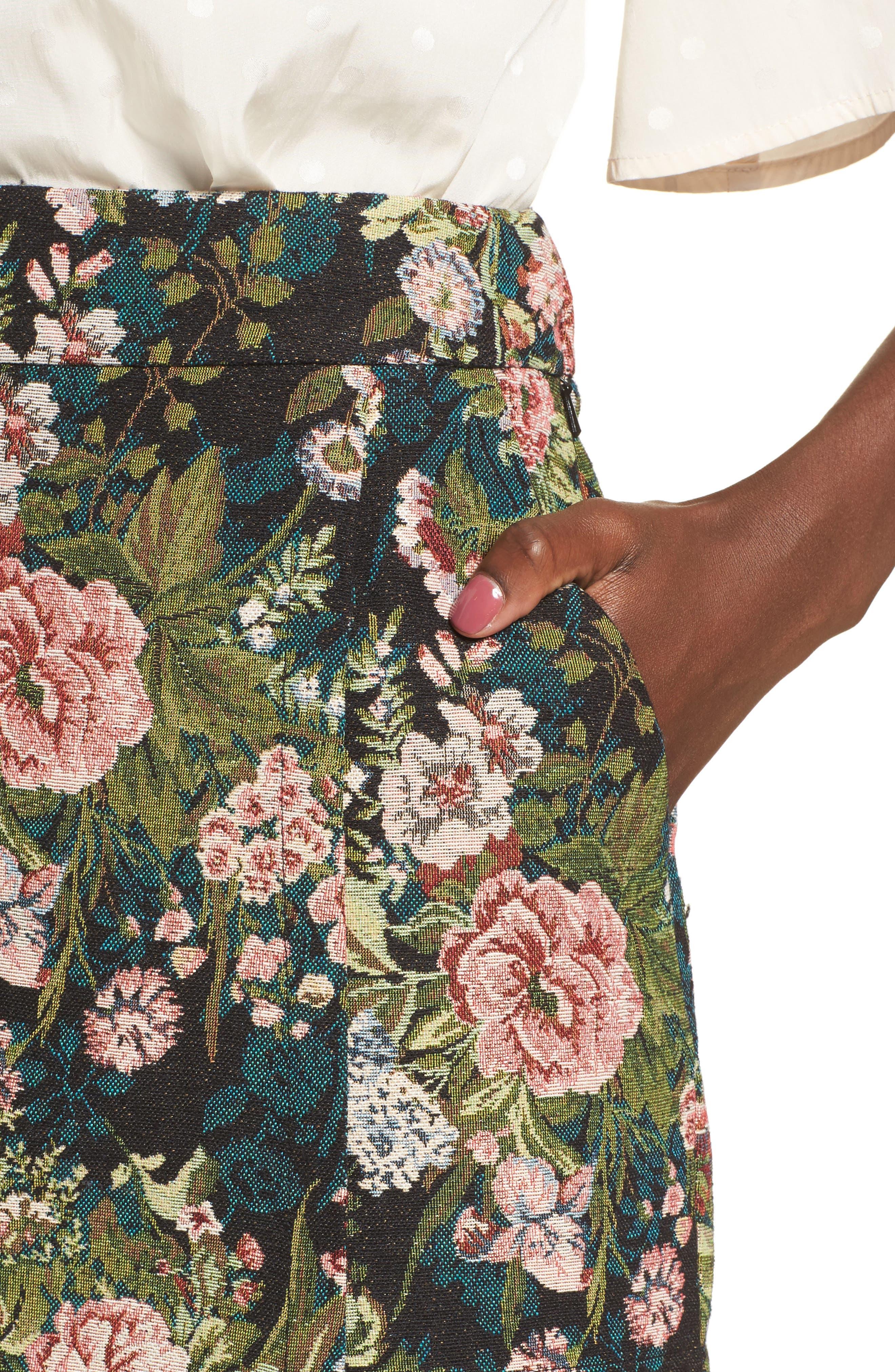 Tapestry Skort,                             Alternate thumbnail 4, color,                             001