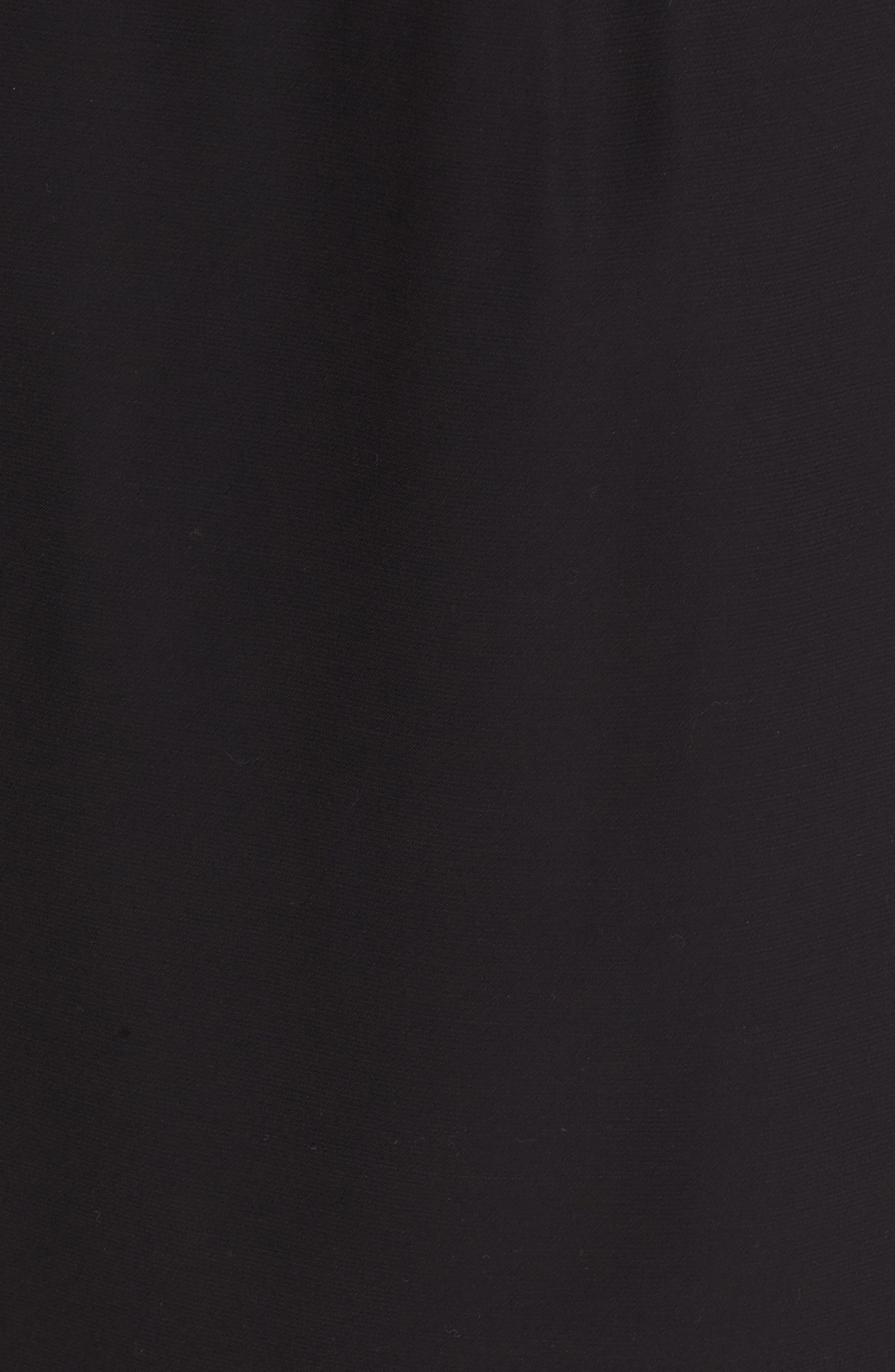 Asymmetrical Mixed Media Skirt,                             Alternate thumbnail 5, color,                             001