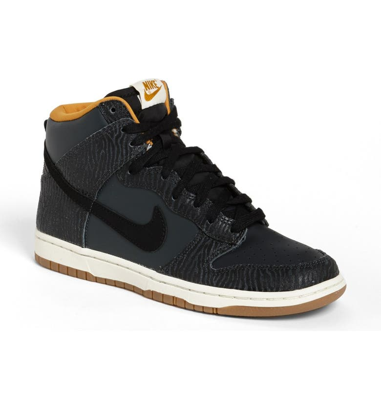 online store eb418 c8fc2 NIKE Dunk Hi - Skinny Print High Top Basketball Sneaker, Main, color