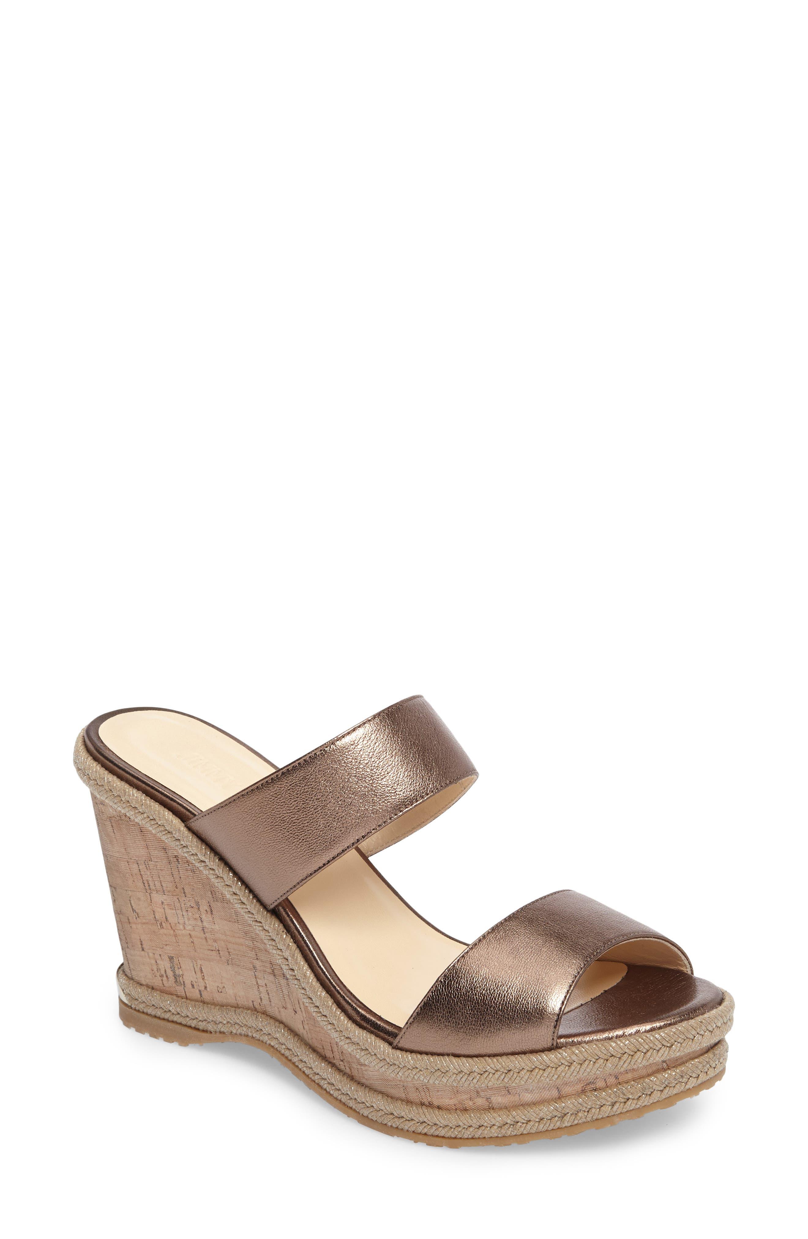 Parker Wedge Sandal,                         Main,                         color, 710