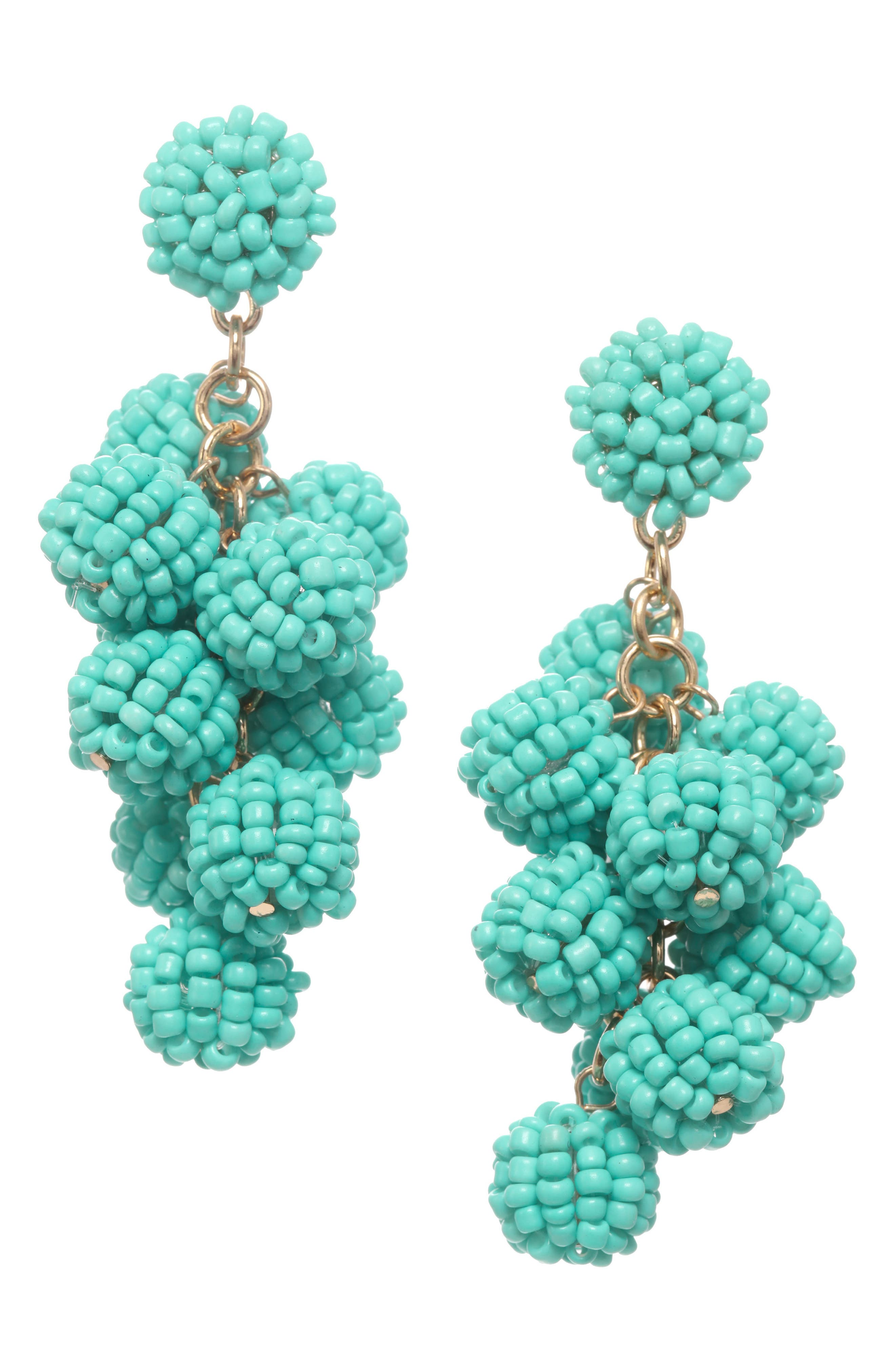 Bauble Cluster Earrings,                         Main,                         color, 710