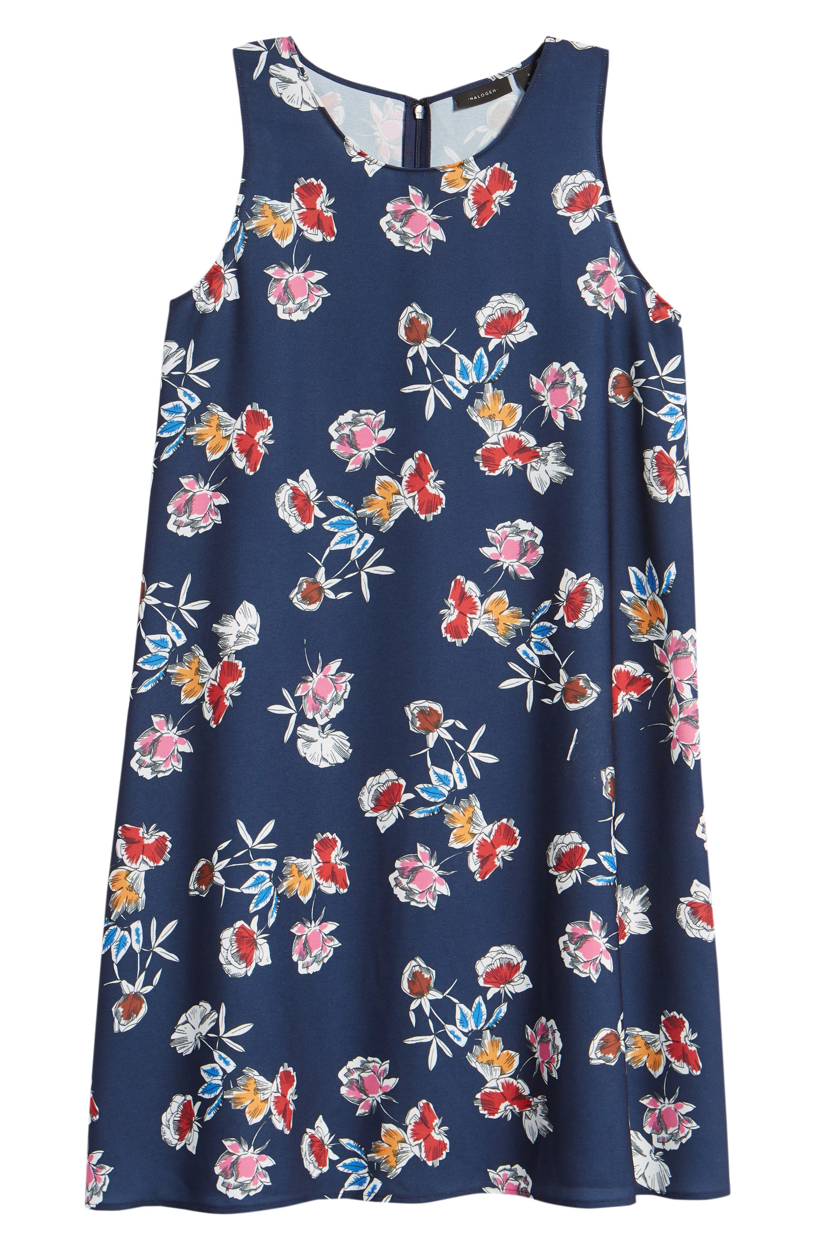 A-Line Dress,                             Alternate thumbnail 142, color,