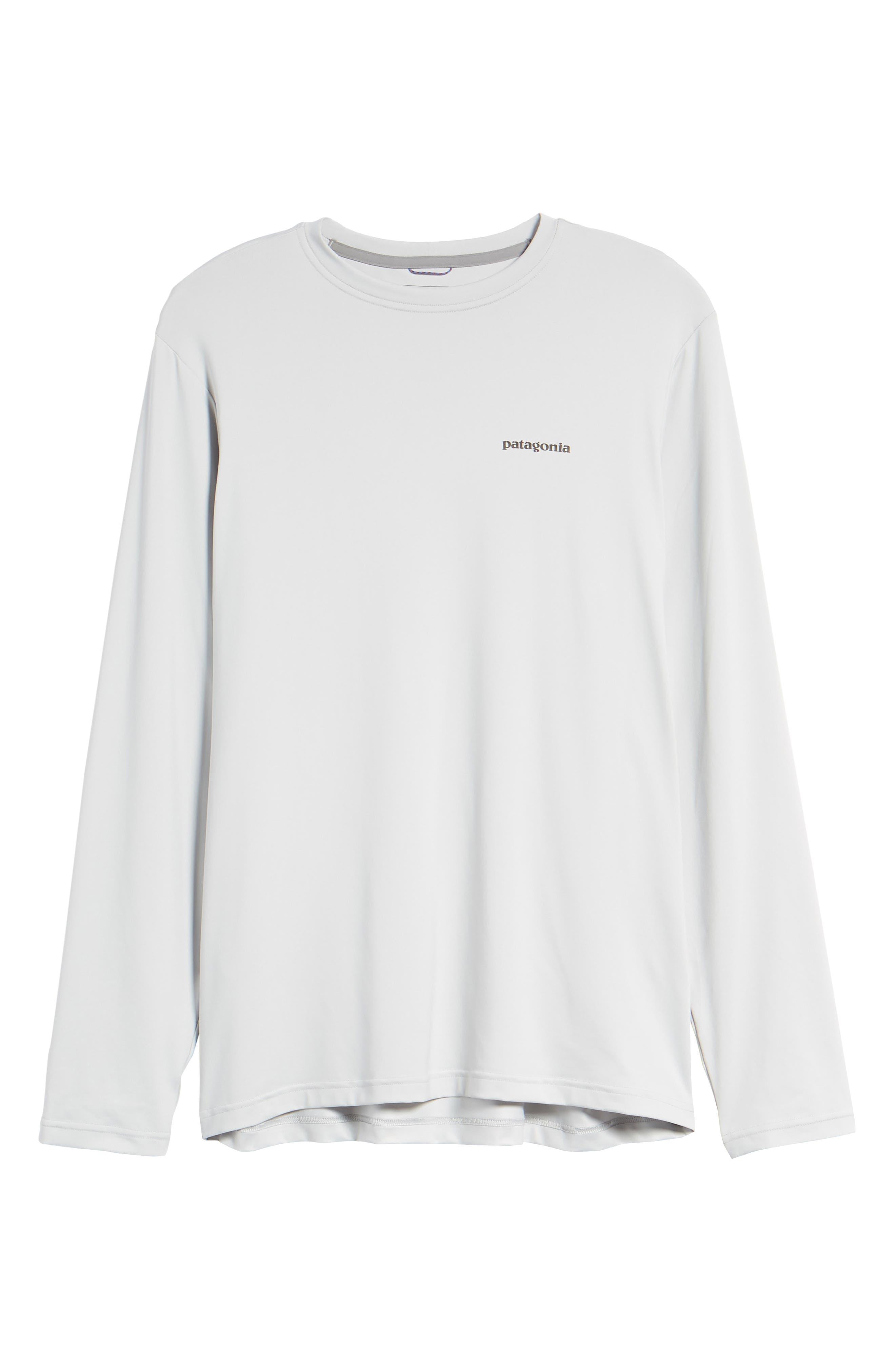 Tech Fish Graphic Long Sleeve T-Shirt,                             Alternate thumbnail 21, color,