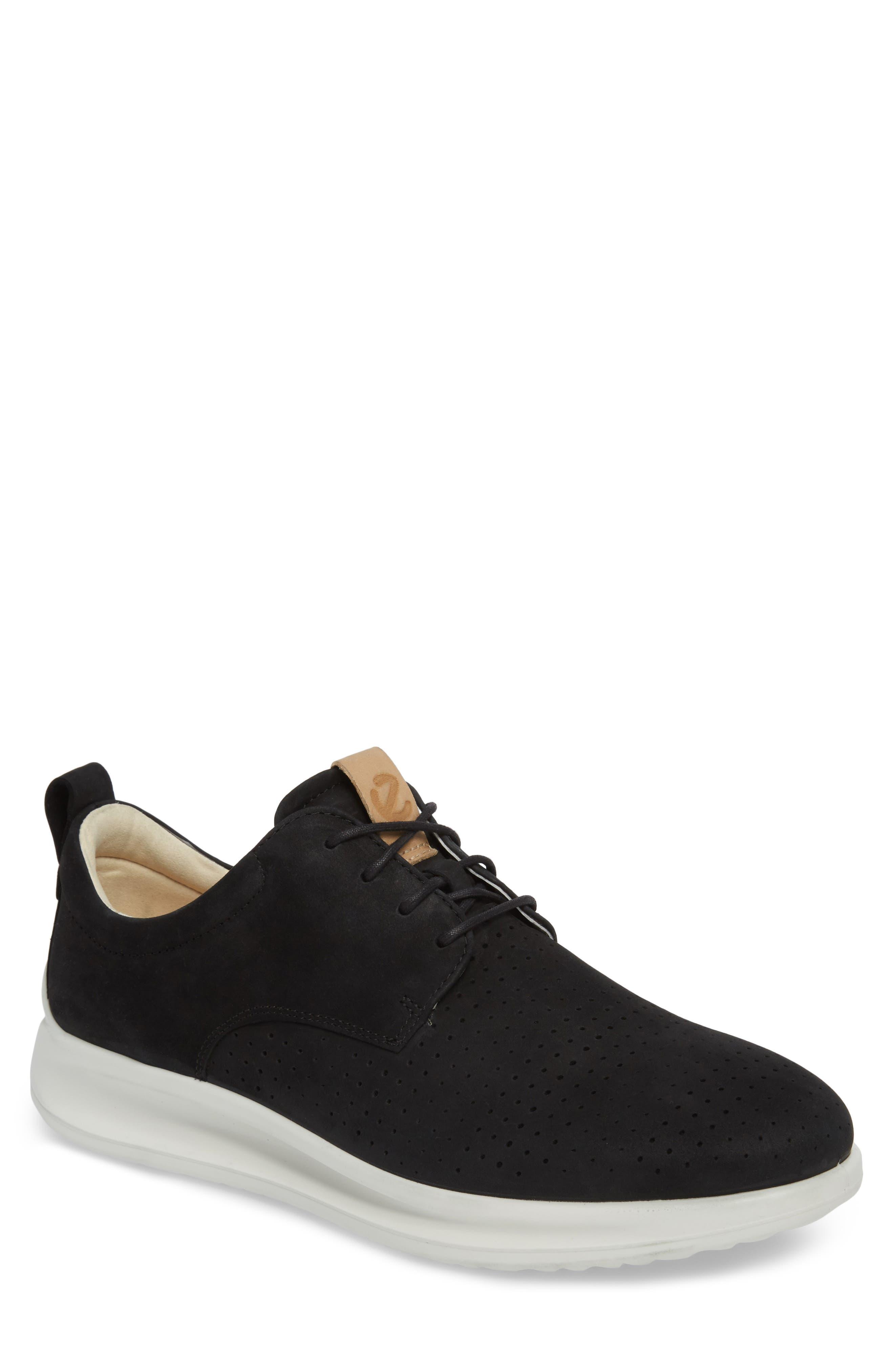ECCO,                             Aquet Sneaker,                             Main thumbnail 1, color,                             007