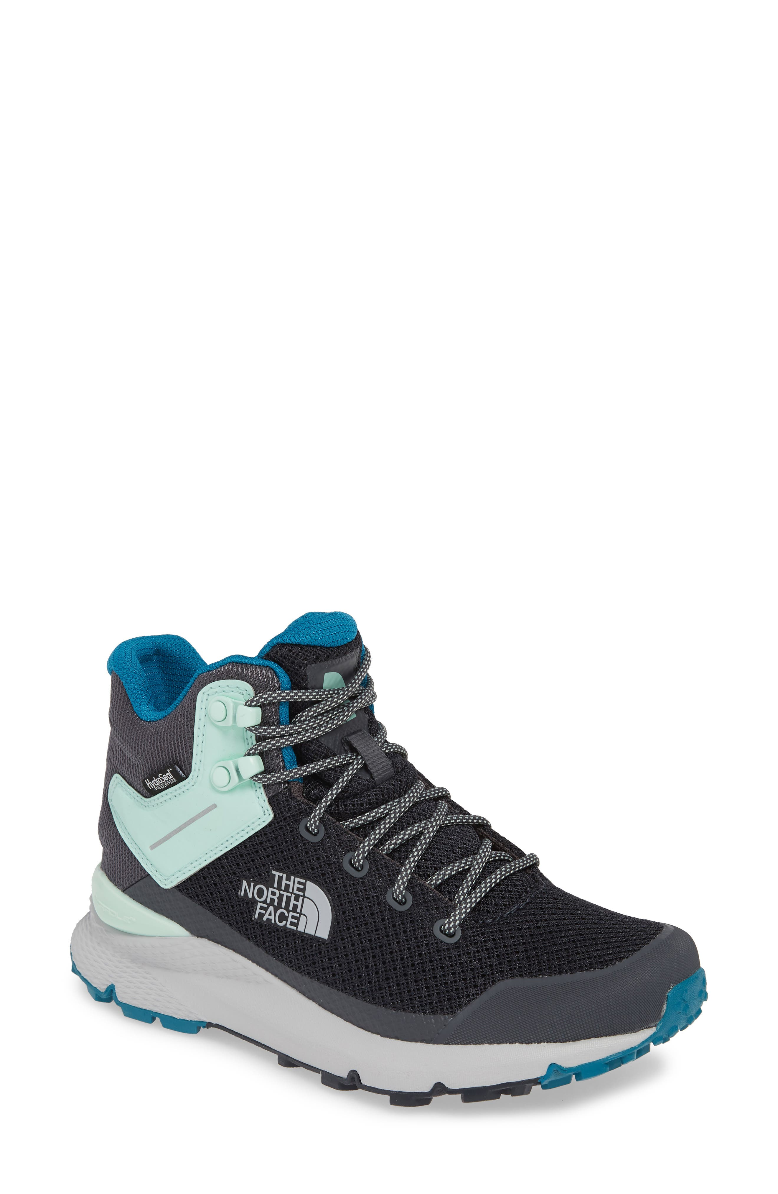 The North Face Vals Waterproof Mid Hiking Boot- Grey