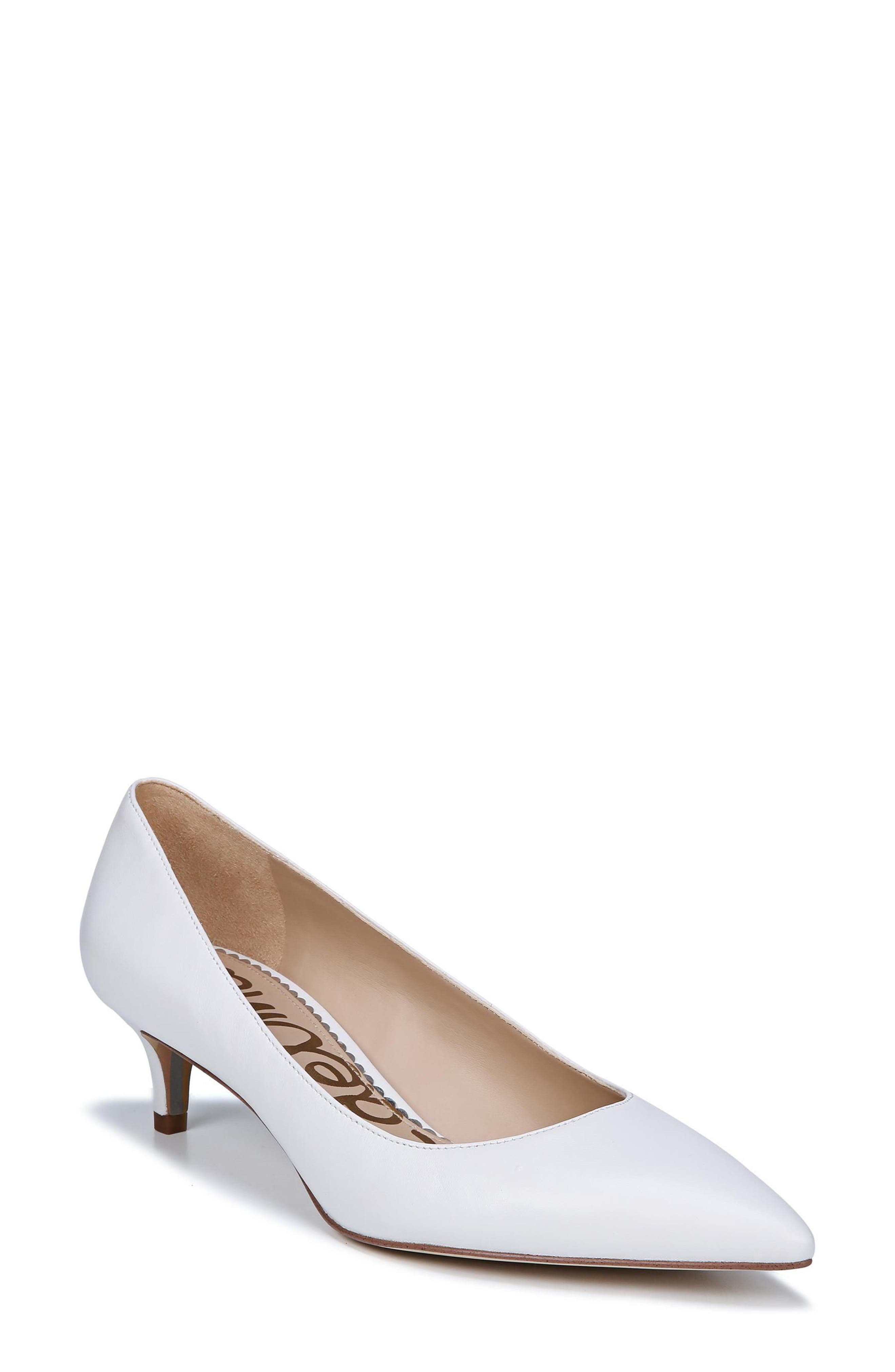 Dori Pump,                         Main,                         color, BRIGHT WHITE LEATHER