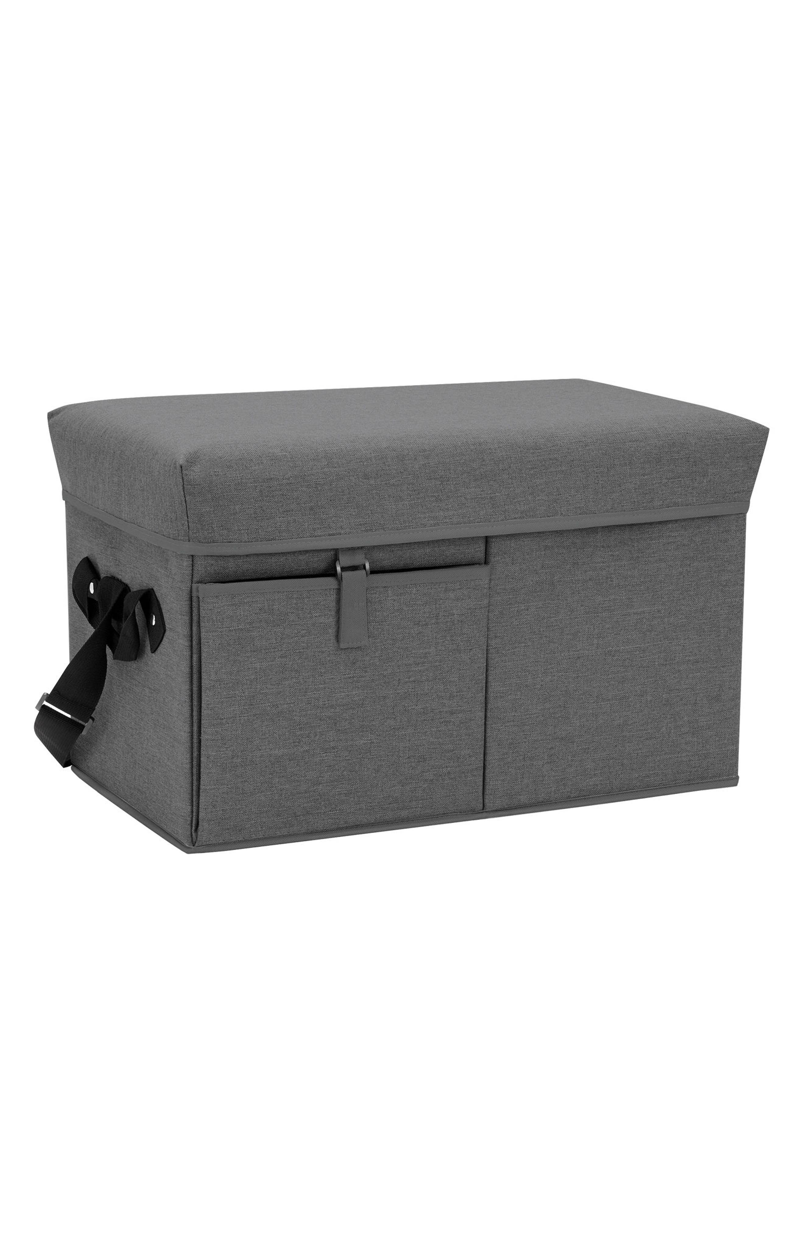 Picnic Time Ottoman Cooler,                             Main thumbnail 1, color,                             020