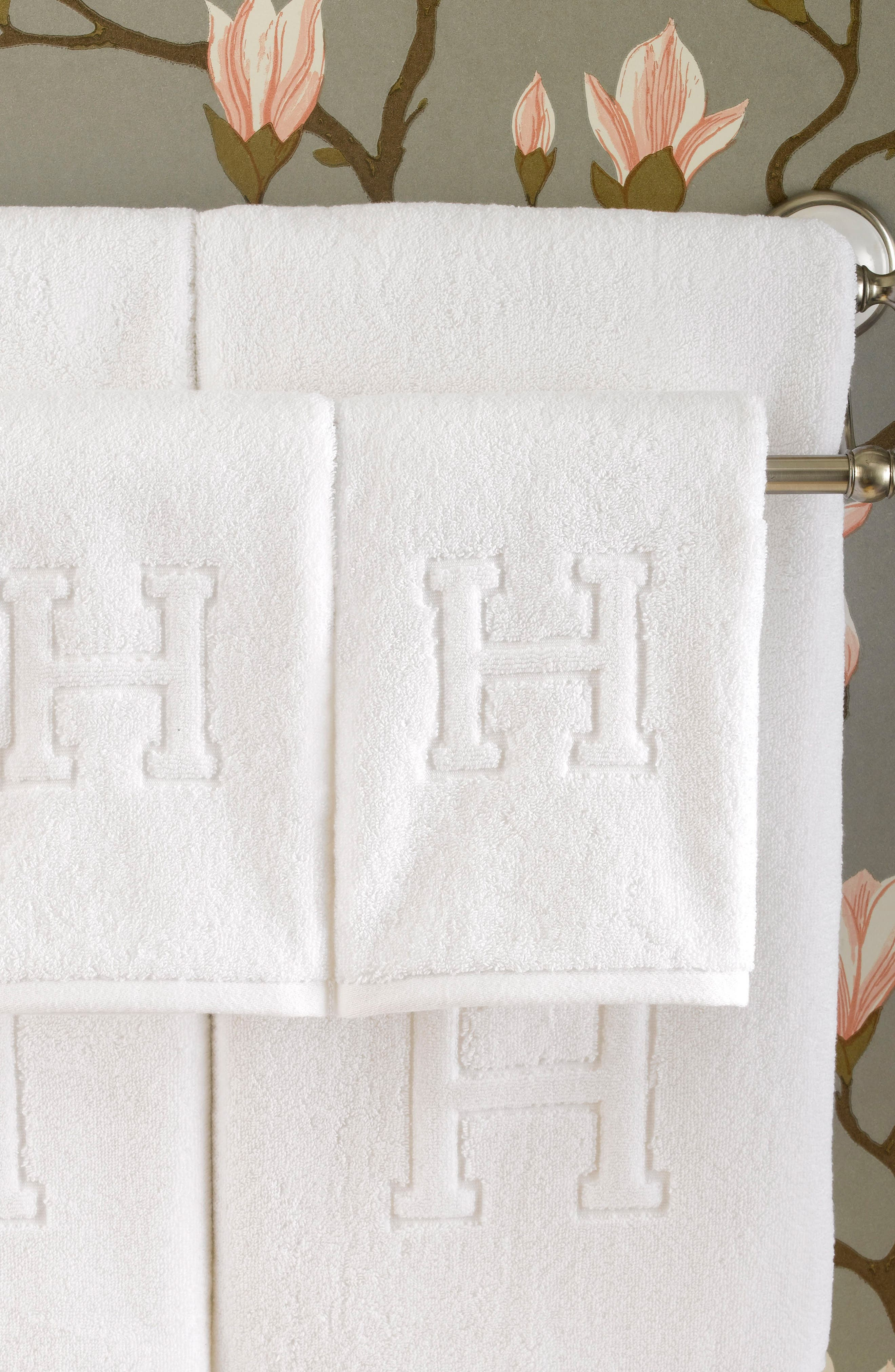 Auberge Fingertip Towel,                             Alternate thumbnail 3, color,                             100