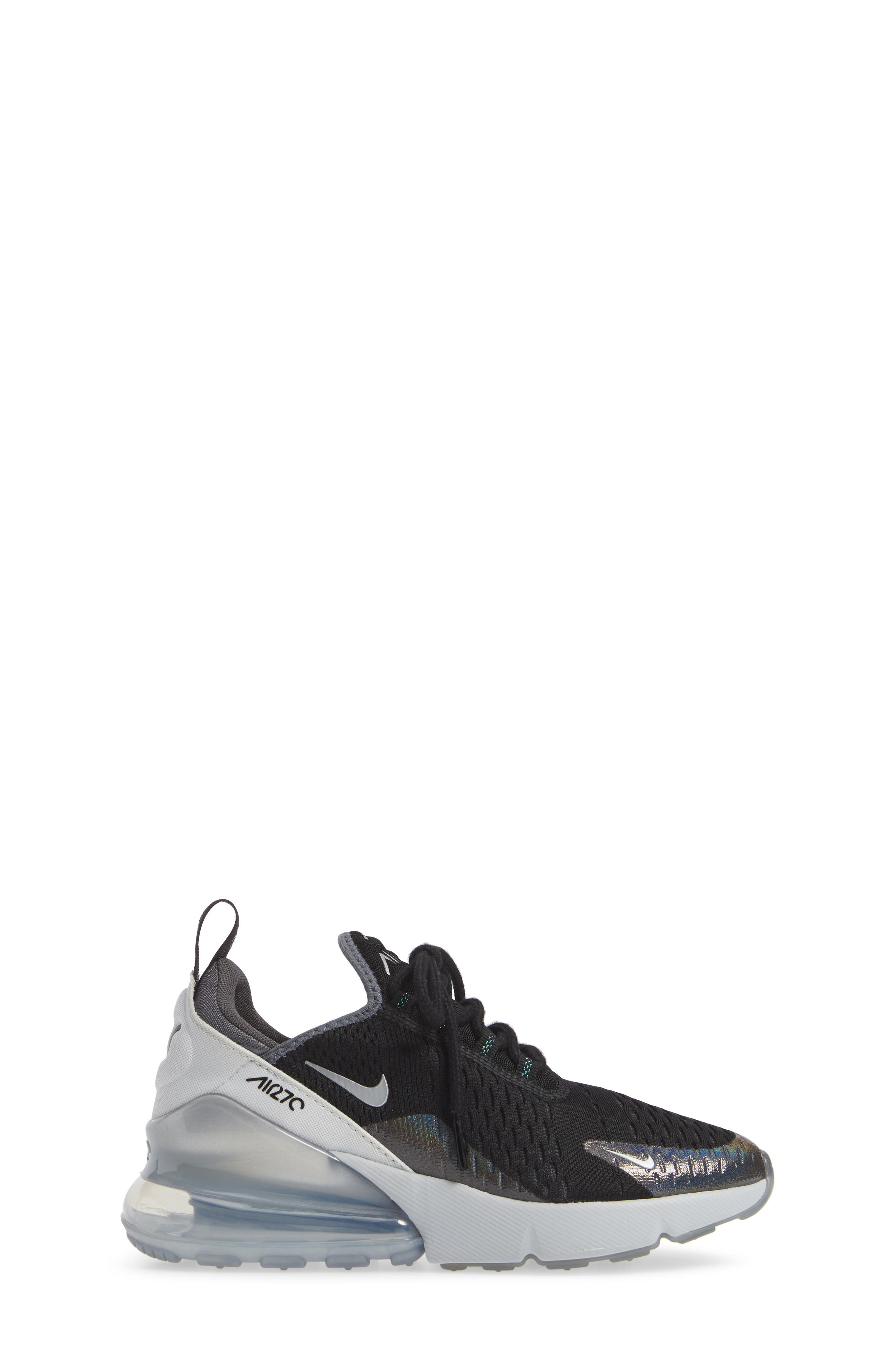 Air Max 270 Y2K Sneaker,                             Alternate thumbnail 3, color,                             BLACK