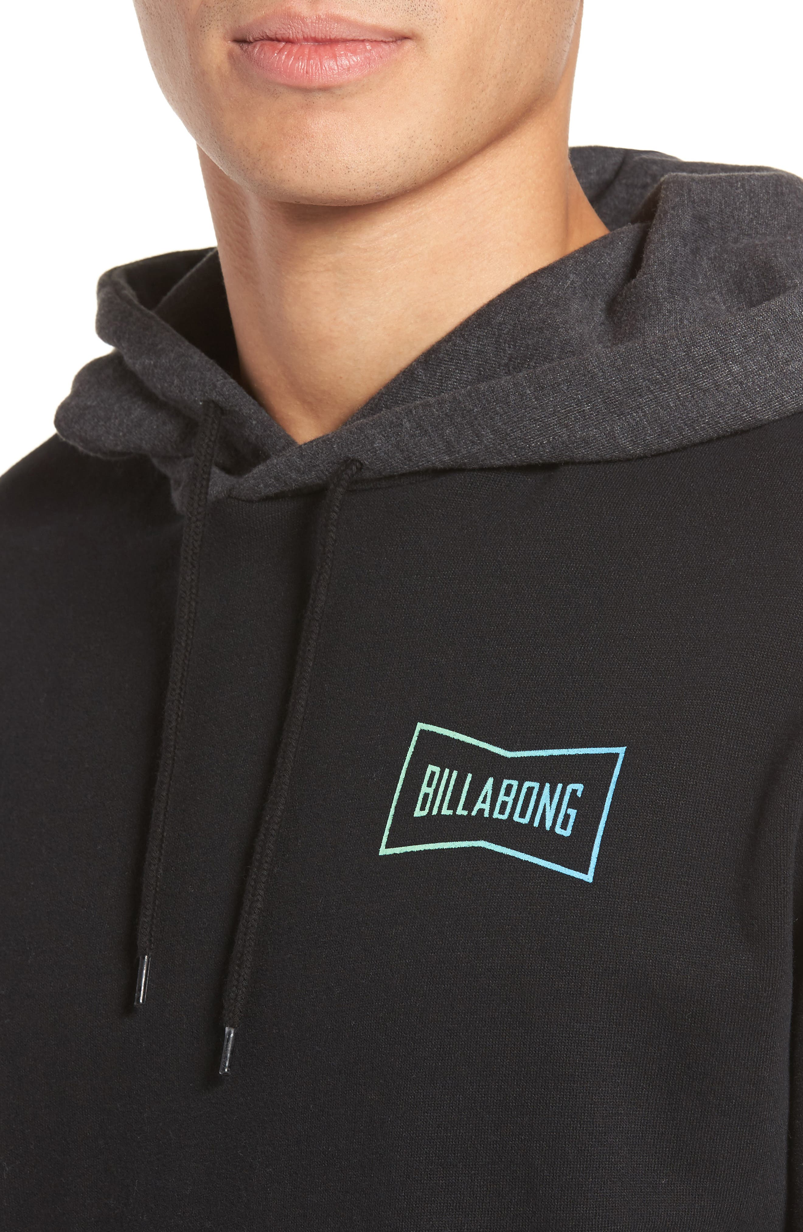 Piston Hoodie,                             Alternate thumbnail 4, color,                             001