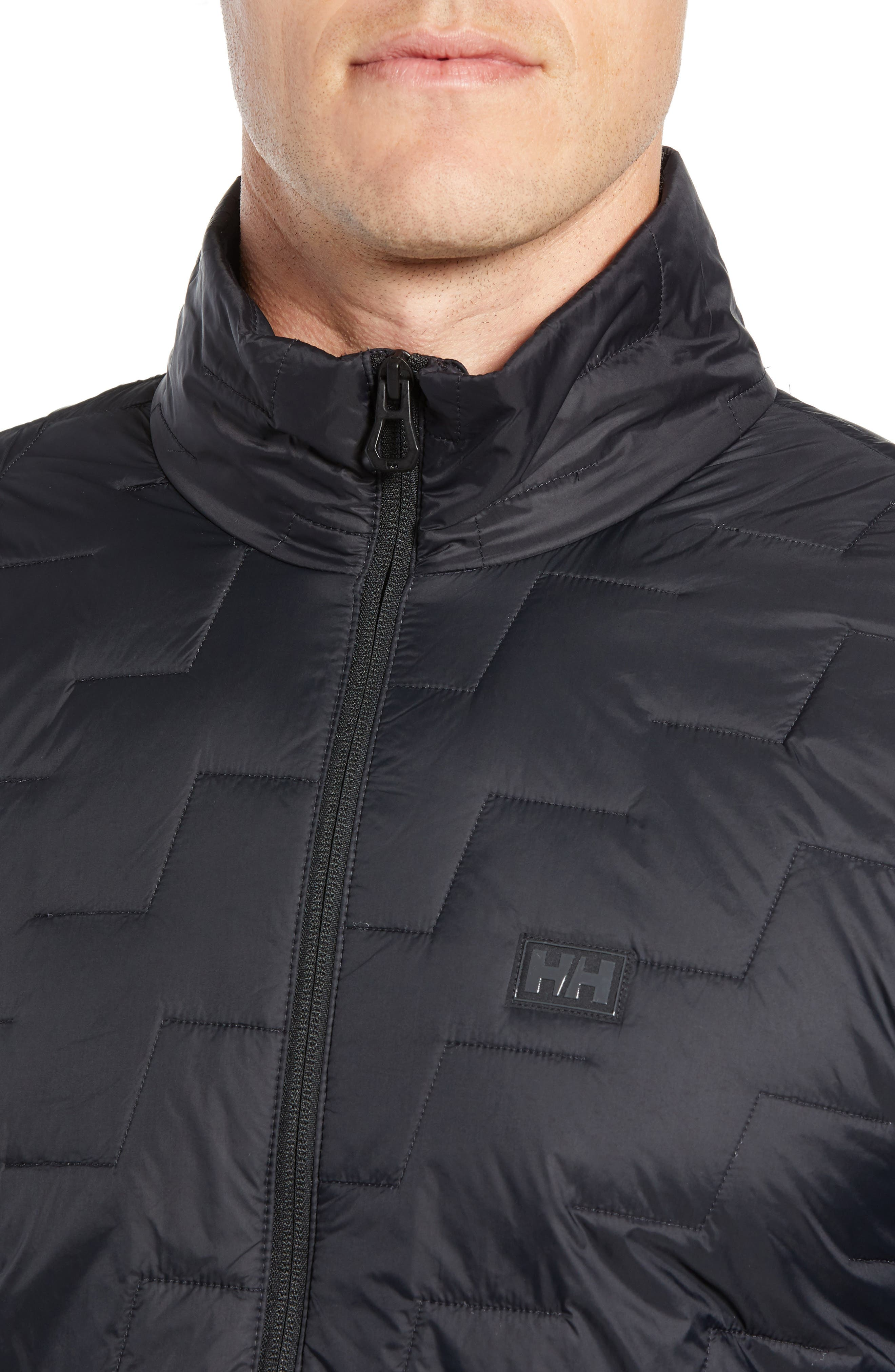 Lifaloft Insulator Jacket,                             Alternate thumbnail 4, color,                             BLACK MATTE